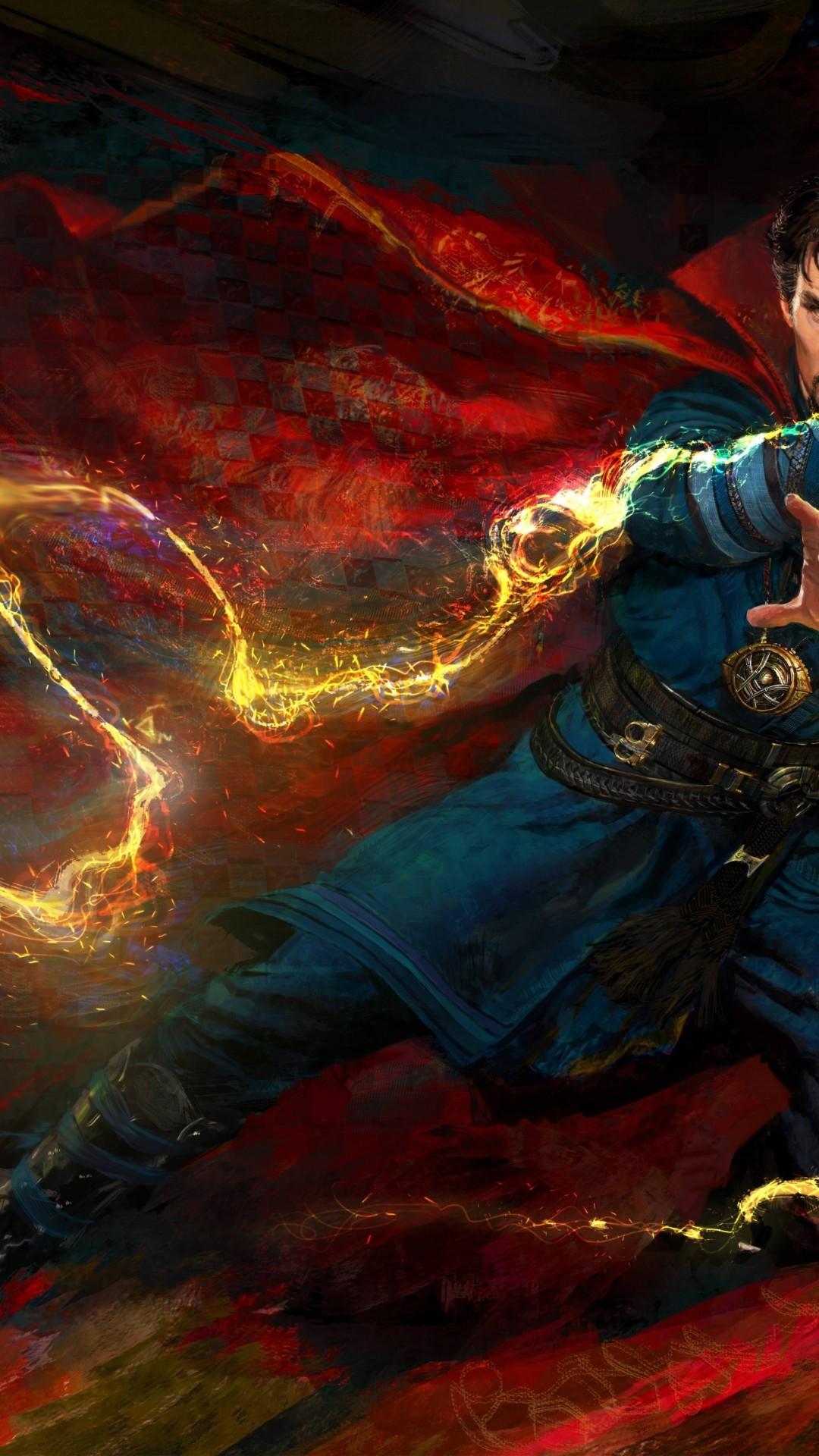 Doctor Strange, Benedict Cumberbatch, Artwork, Cape