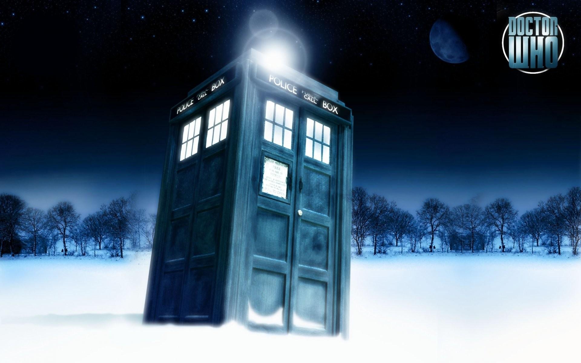 130 Doctor Who Tardis Desktop