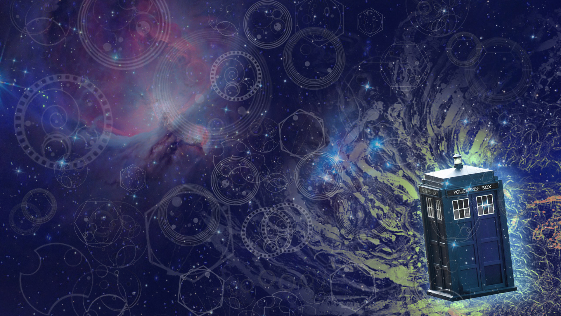 police box, movie, abstract, doctor who, art, paint, hd wallpaper