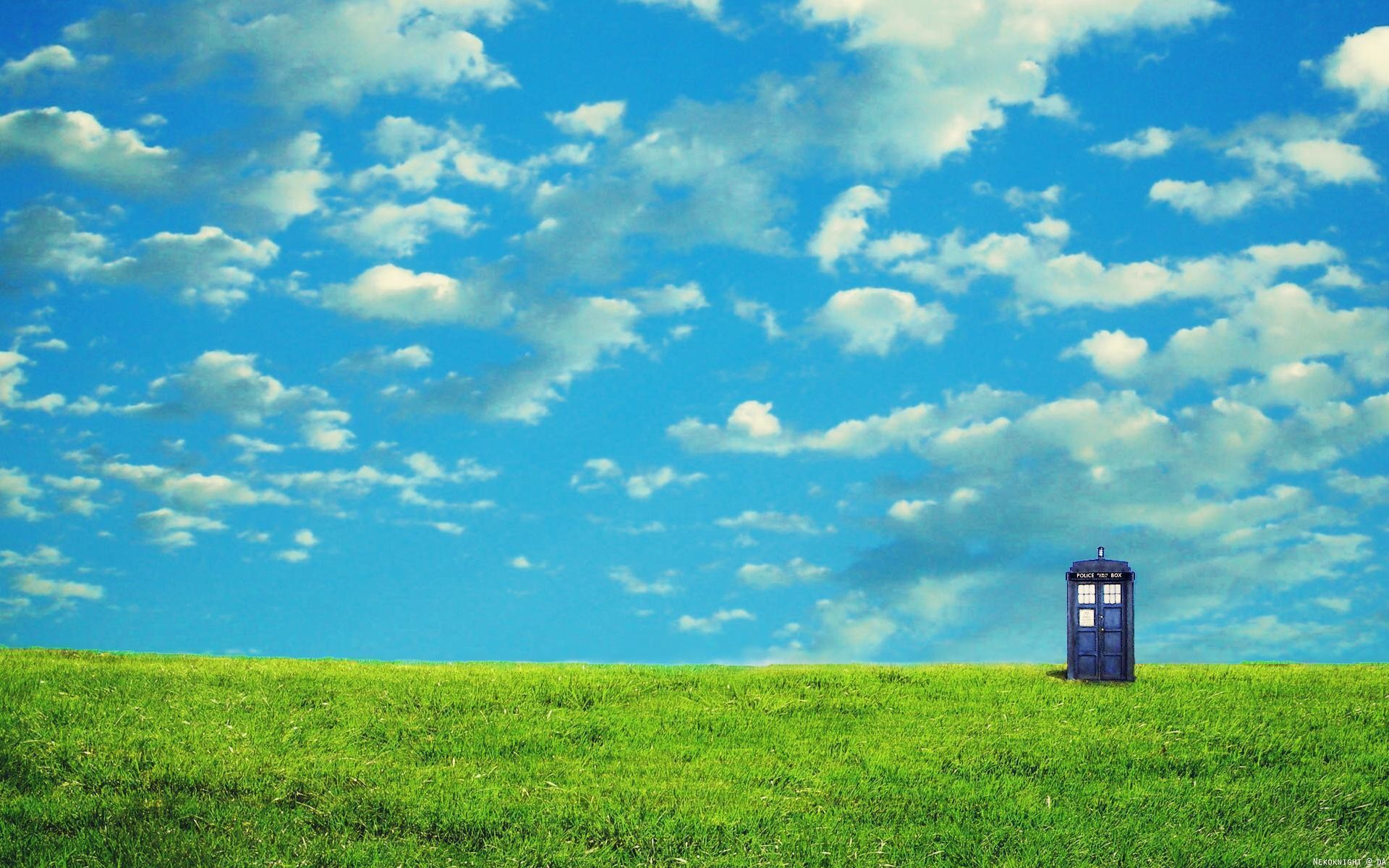Doctor Who TARDIS Desktop Wallpaper