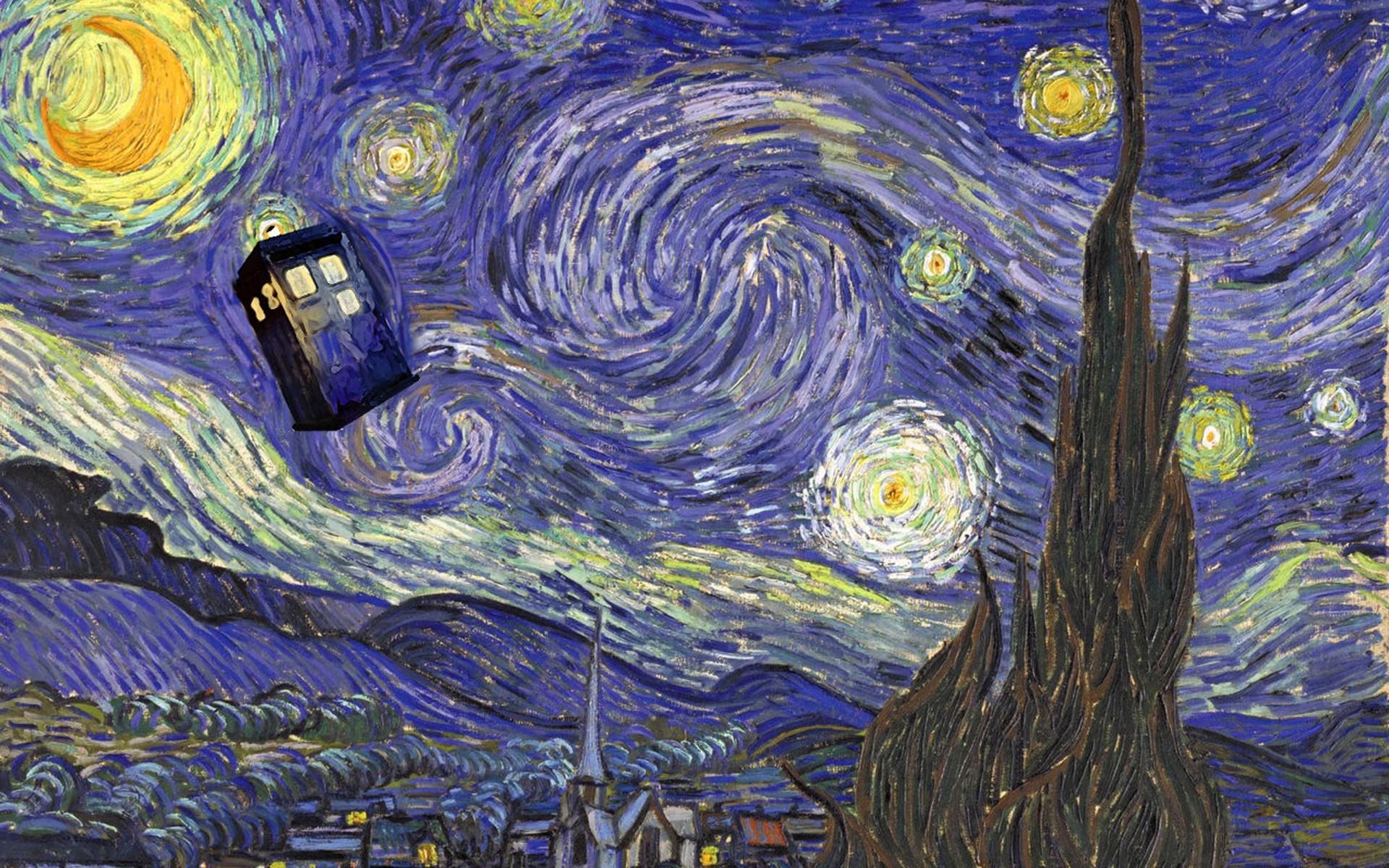 Doctor Who, Vincent Van Gogh, TARDIS Wallpapers HD / Desktop and Mobile  Backgrounds