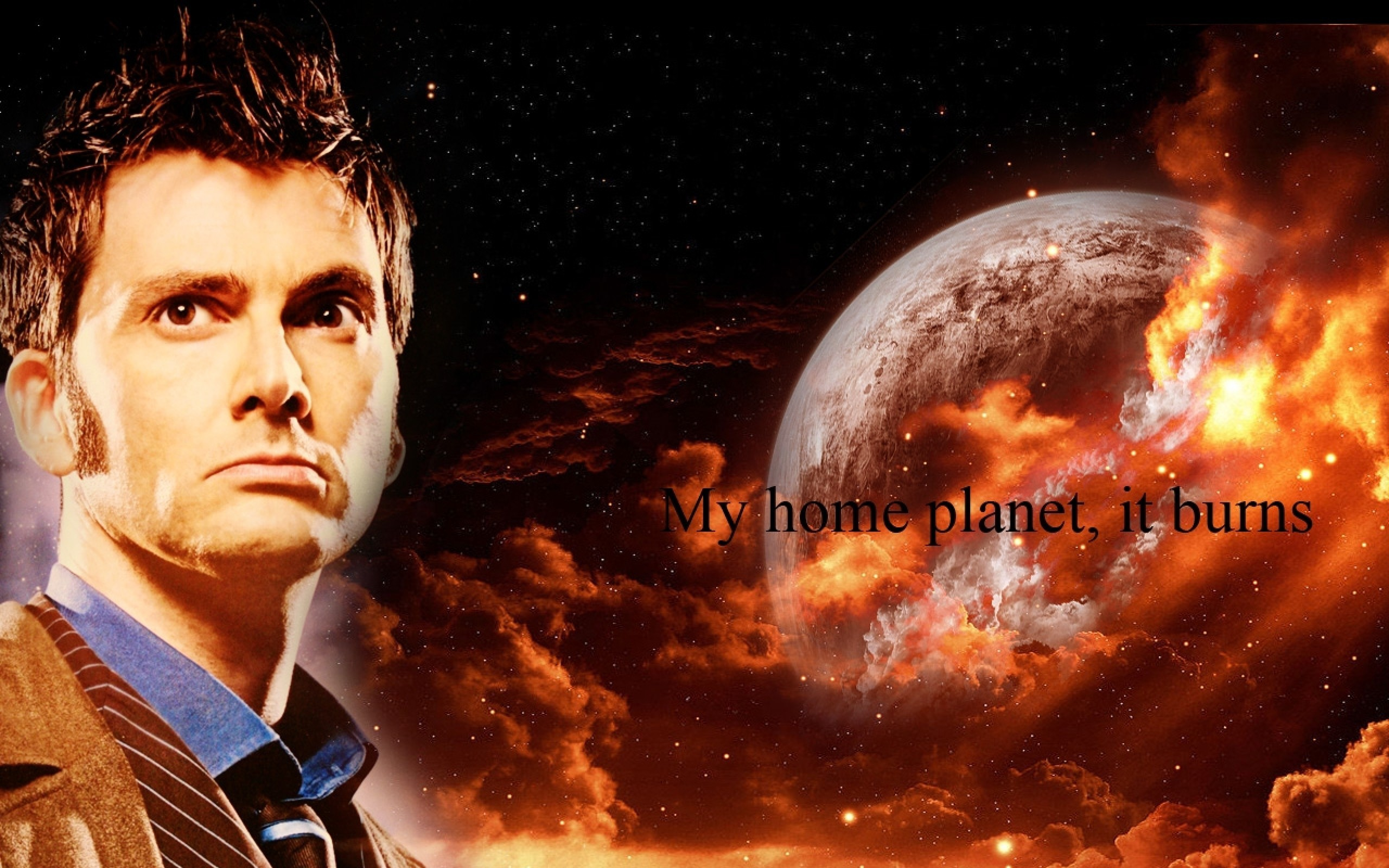 Doctor Who, The Doctor, TARDIS, David Tennant, Gallifrey, Tenth Doctor,  Planet, Quote Wallpapers HD / Desktop and Mobile Backgrounds