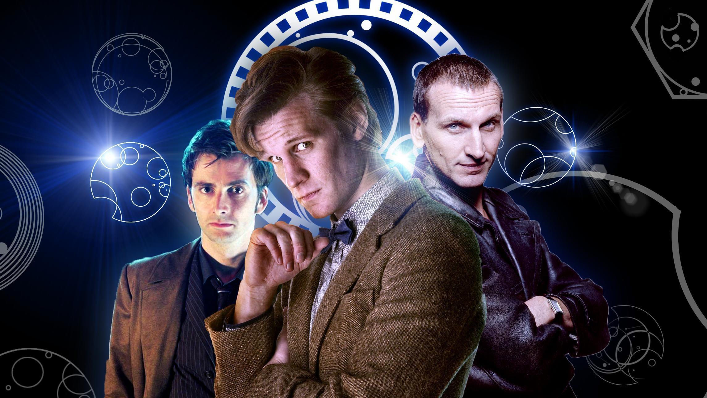 Doctor Who Matt Smith and Karen Gillan HD desktop wallpaper High