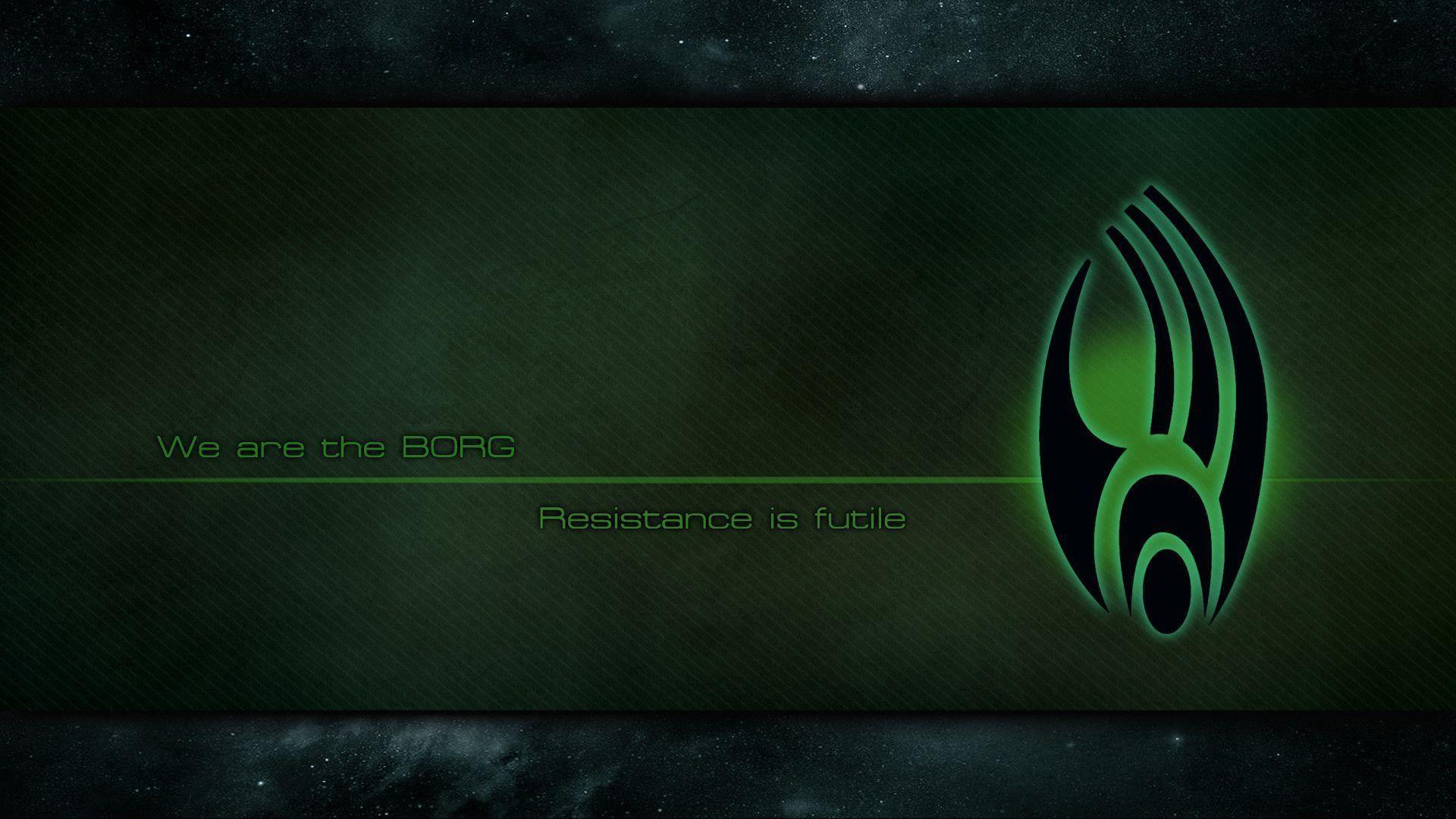 Borg logo wallpaper by shatinn on DeviantArt