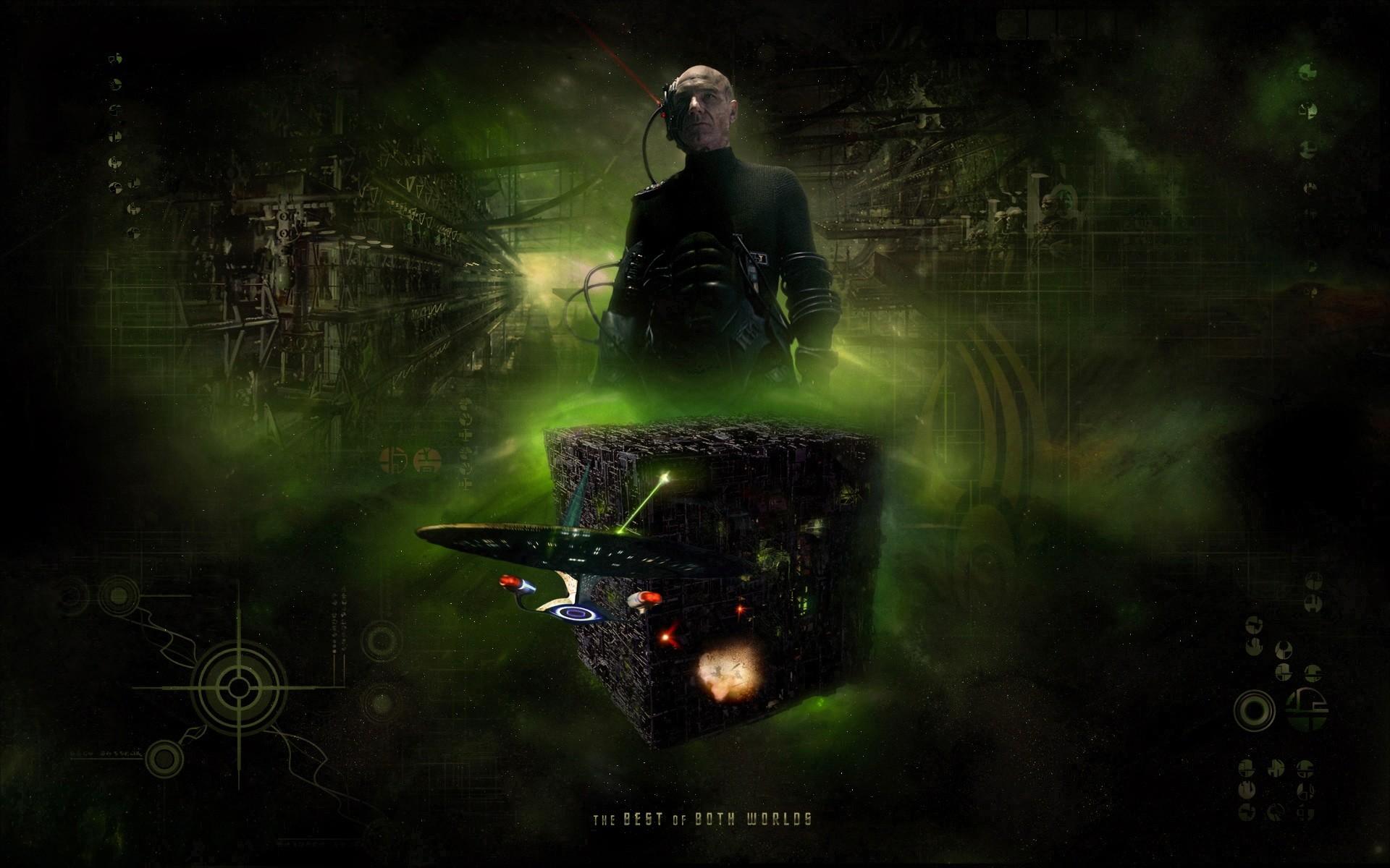 Star Trek Original Series Borg Cube. Free Star Trek computer desktop  wallpaper, images,