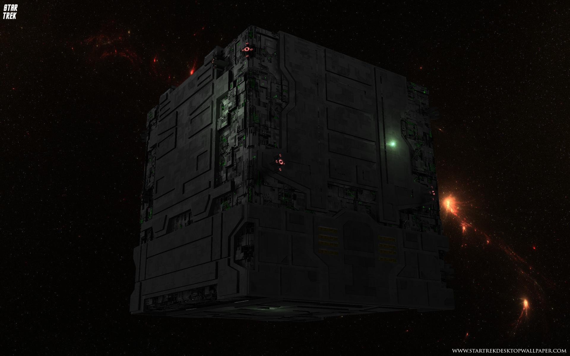 Star Trek Borg Tactical Cube. Free Star Trek computer desktop wallpaper,  images, pictures