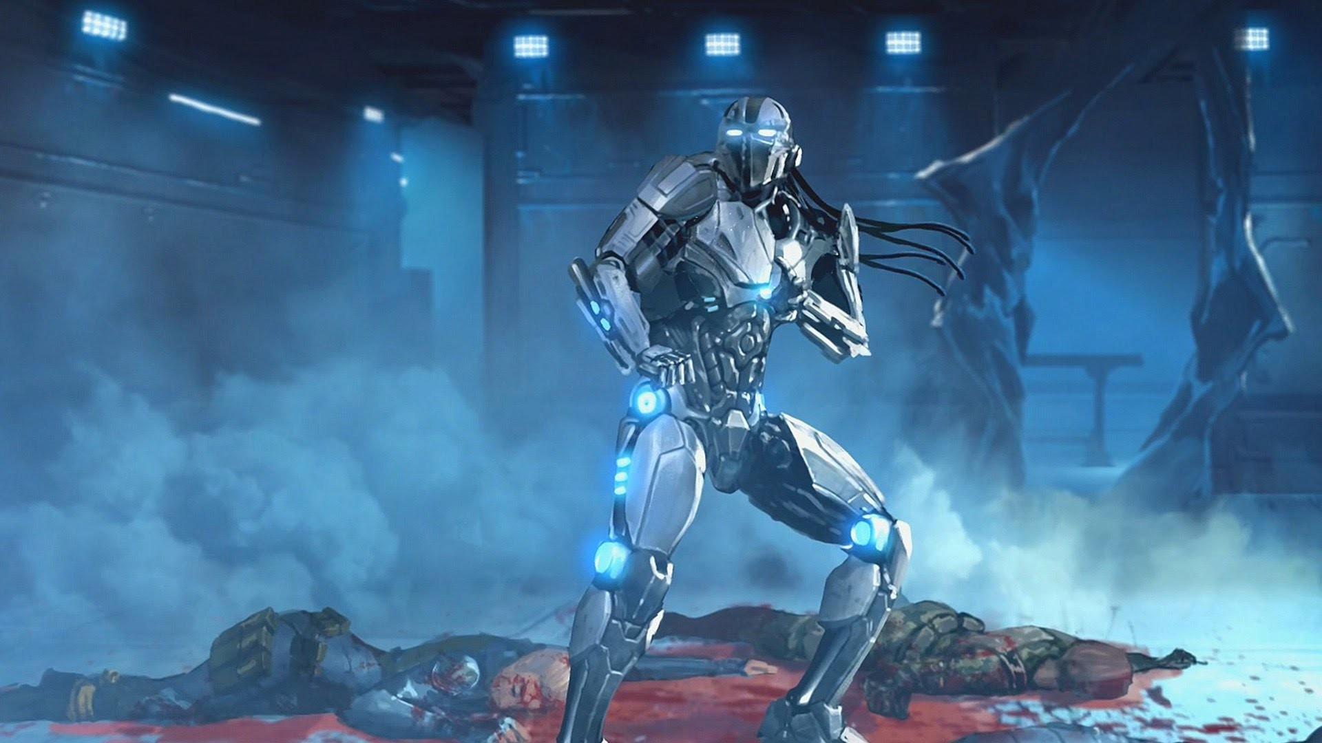 Mortal Kombat X-XLL DLC – Triborg/Tri-Borg (Klassic Tower) Arcade Story  Ending (1080p – HD)