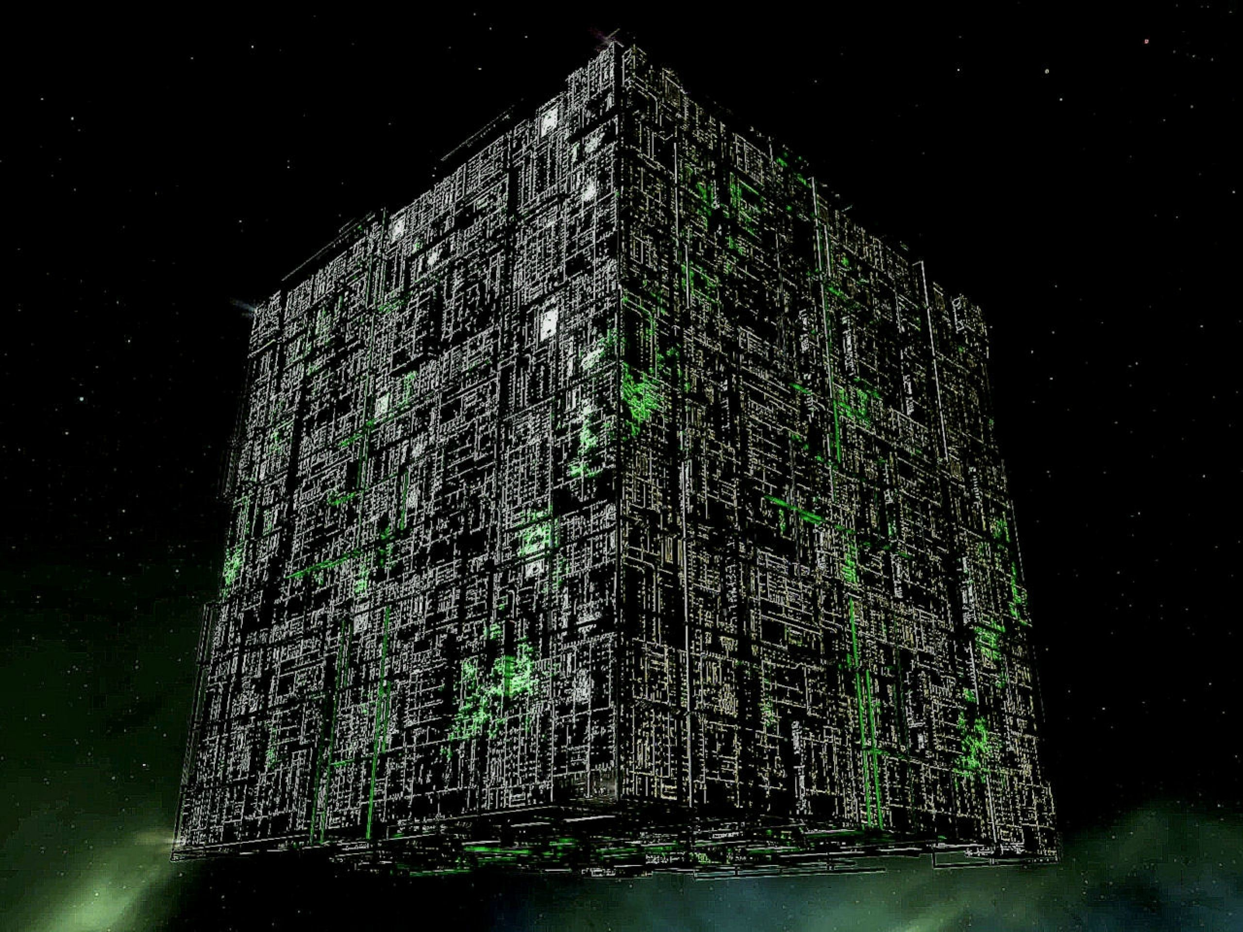 We are the Borg. Lower your shields and surrender your ships. We will add  your biological and technological distinctiveness to our own.