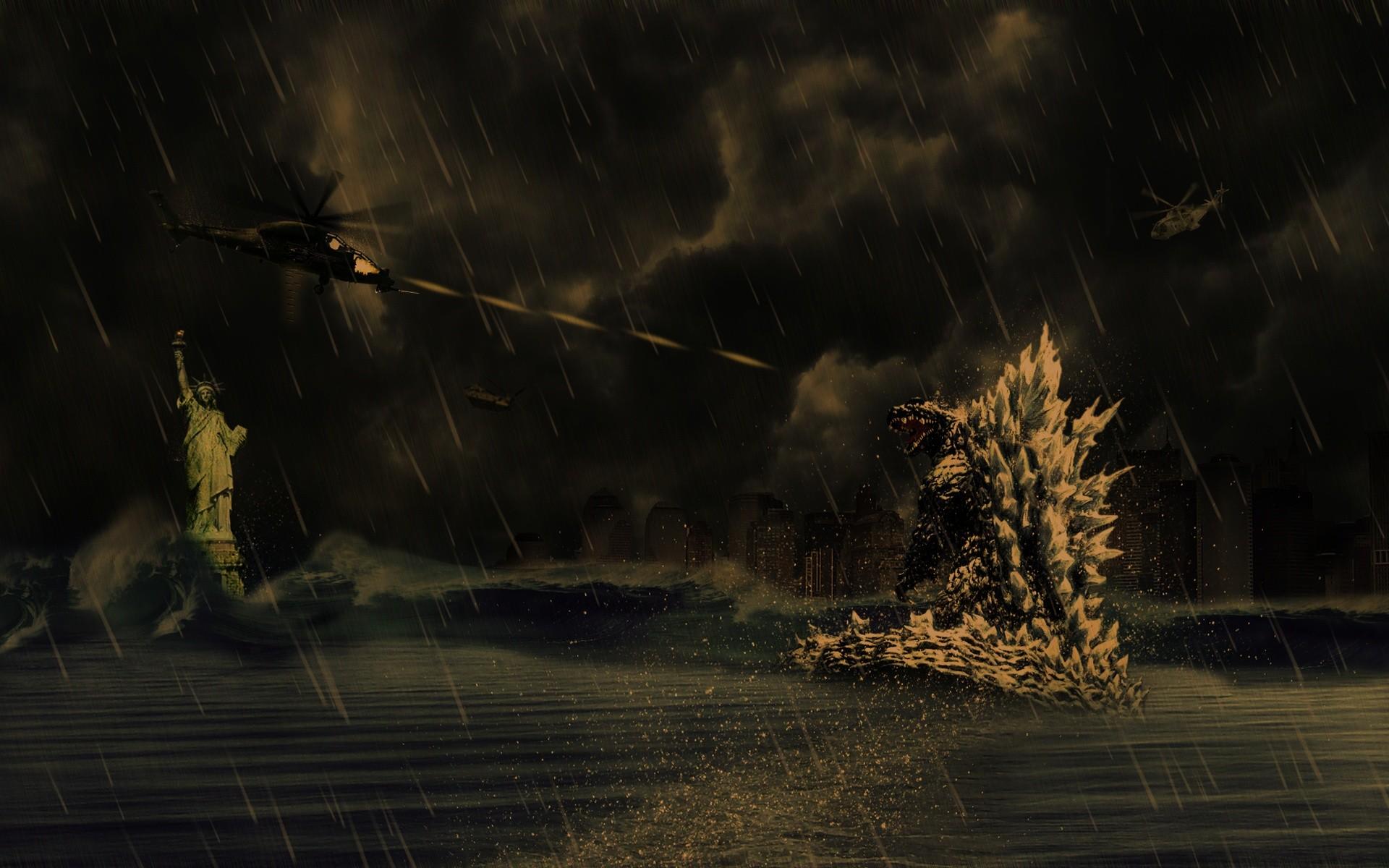 Godzilla Screensaver