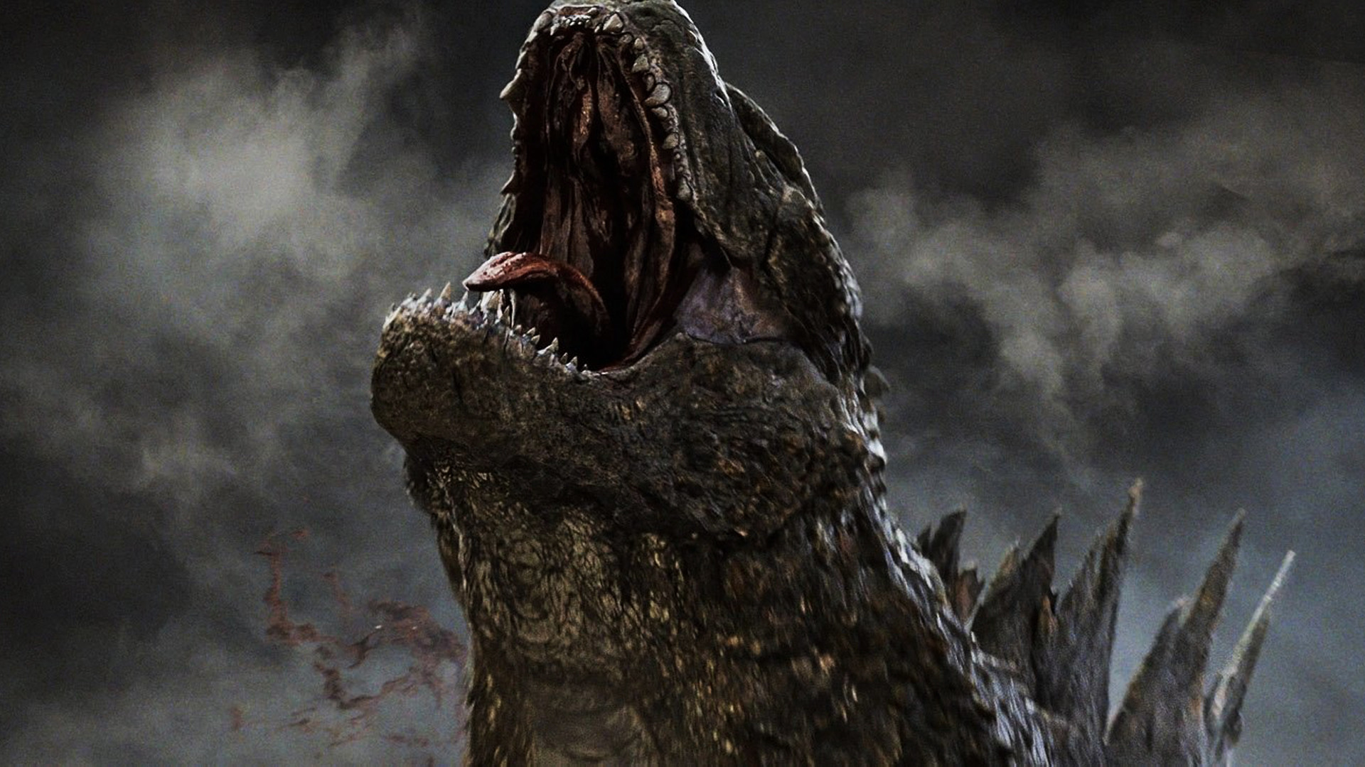 Godzilla Roaring 2014 Movie 12 Wallpaper HD