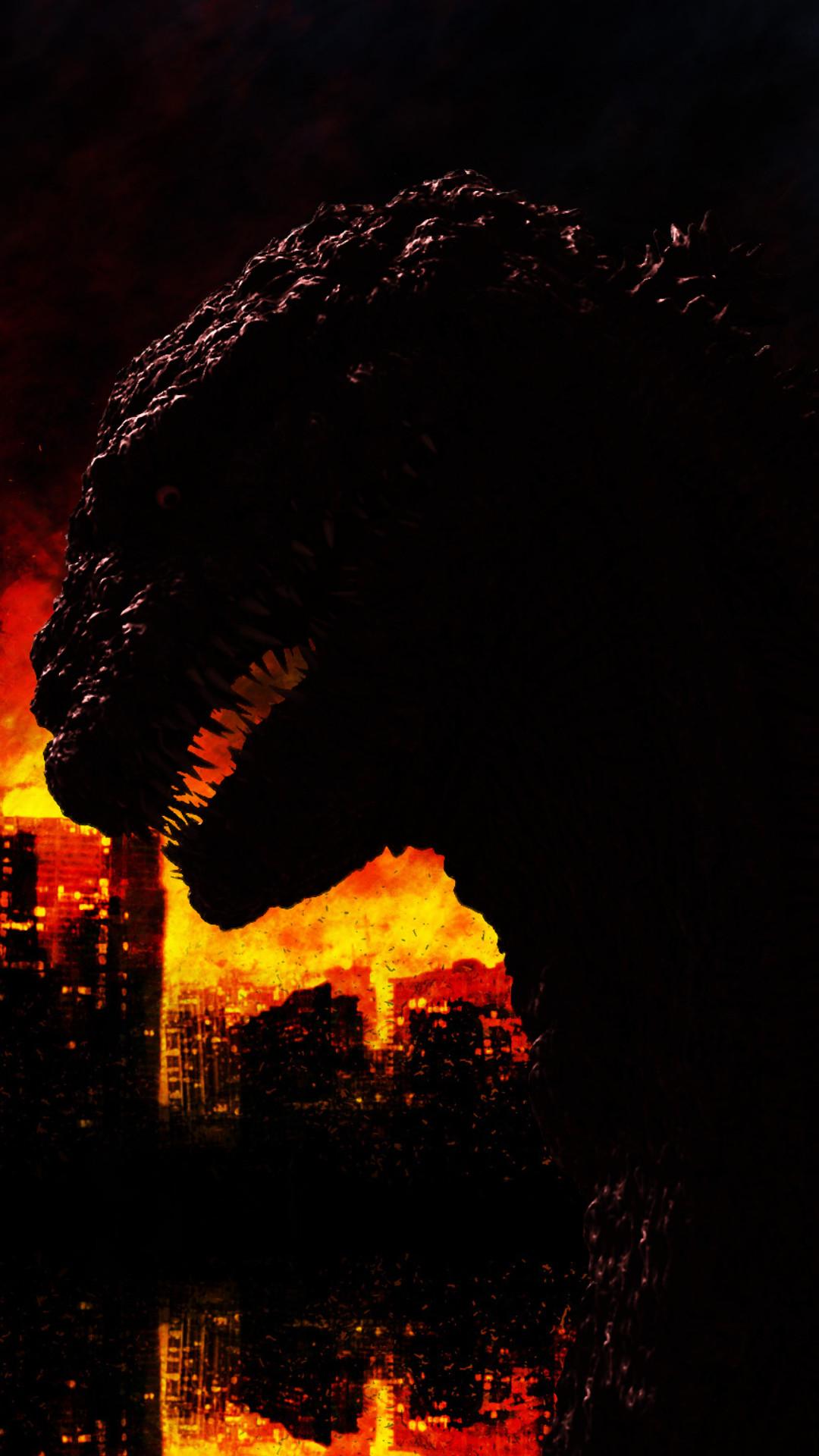 Shin-Godzilla Phone Wallpaper