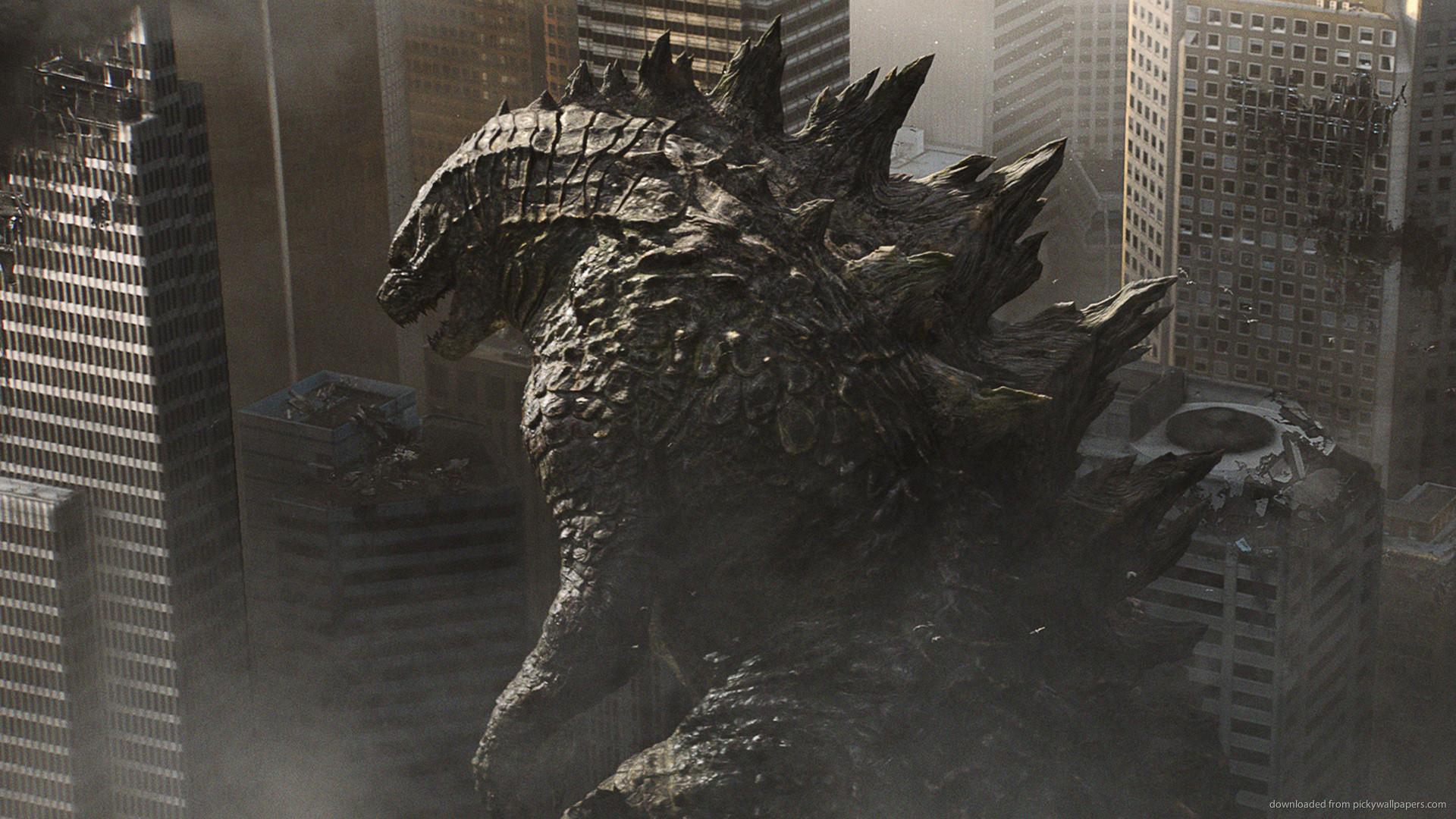 Godzilla Crushing The City picture