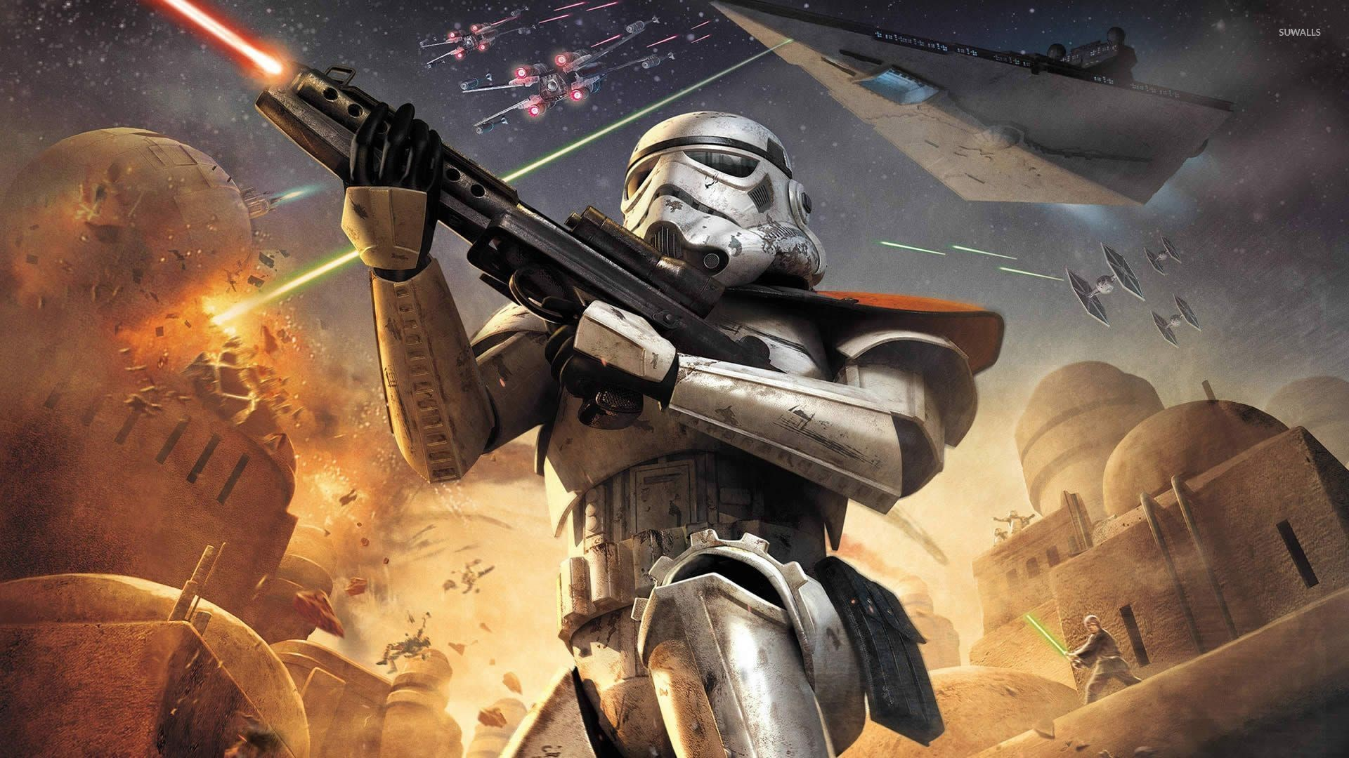 Star Wars Battlefront – Elite Squadron wallpaper jpg