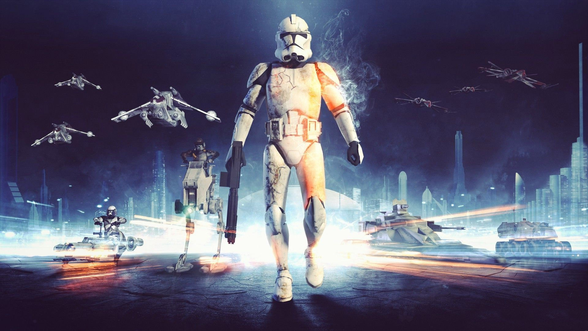 Star Wars, Clone Trooper, Battlefield Wallpapers HD / Desktop and Mobile  Backgrounds