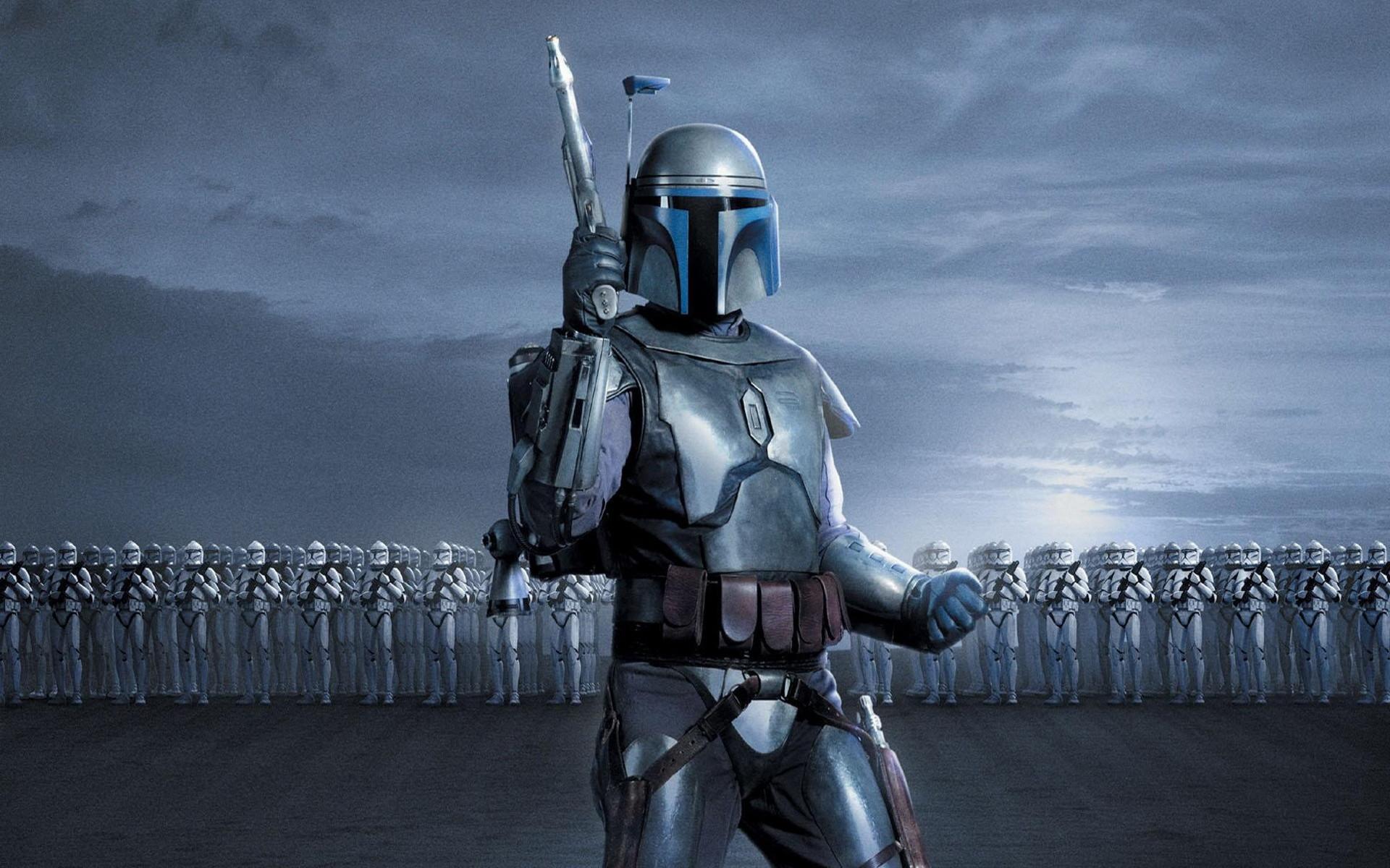 Movie – Star Wars Episode II: Attack Of The Clones Jango Fett Clone Trooper  Wallpaper