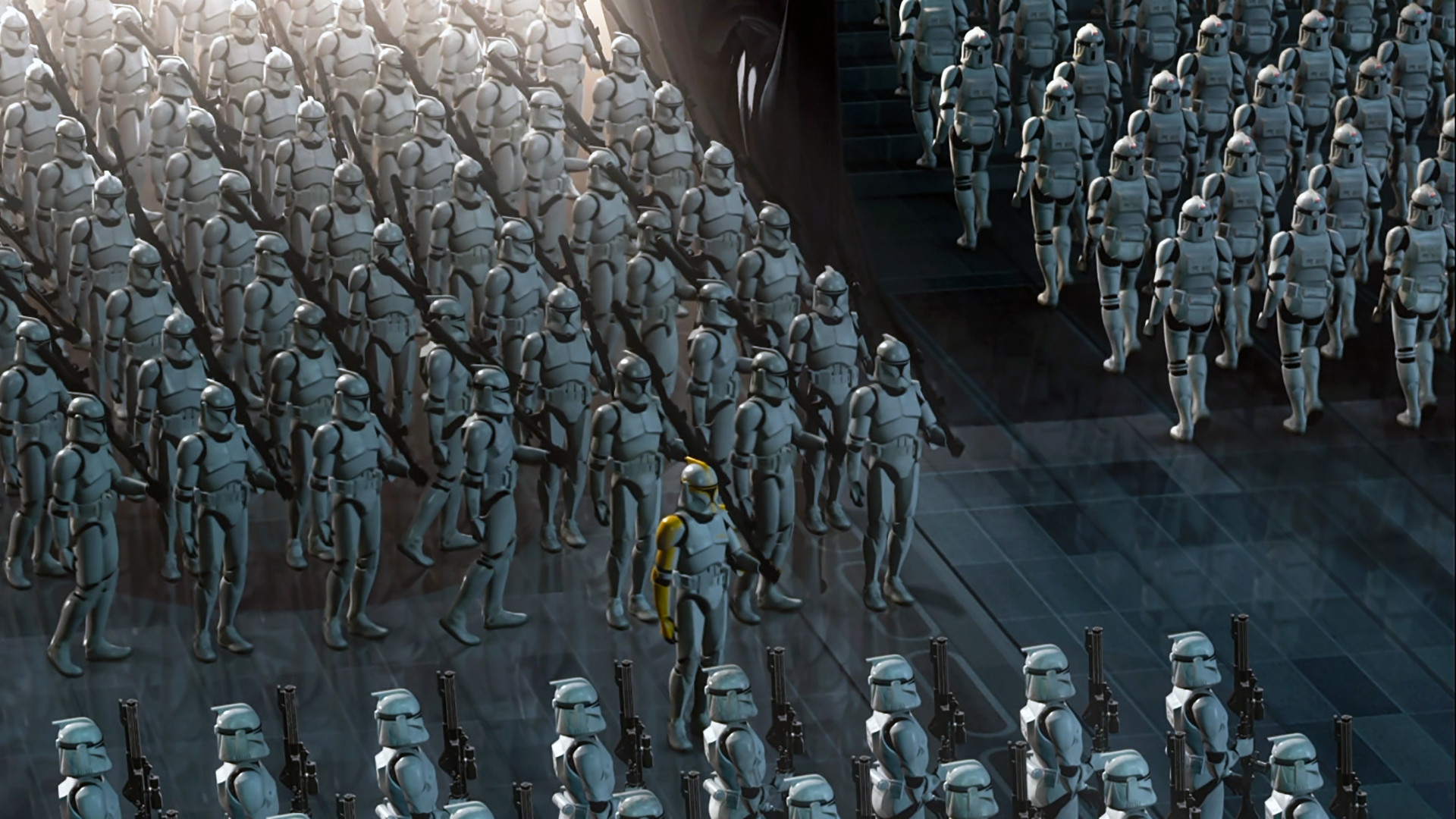 Movie – Star Wars Episode II: Attack Of The Clones Clone Trooper Wallpaper
