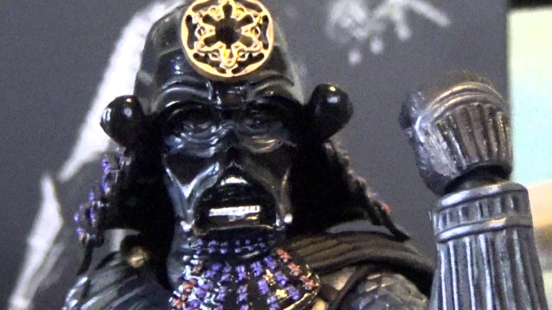Star Wars BAN-DAI Movie Realization Samurai Taisho Darth Vader Toy Review –  YouTube