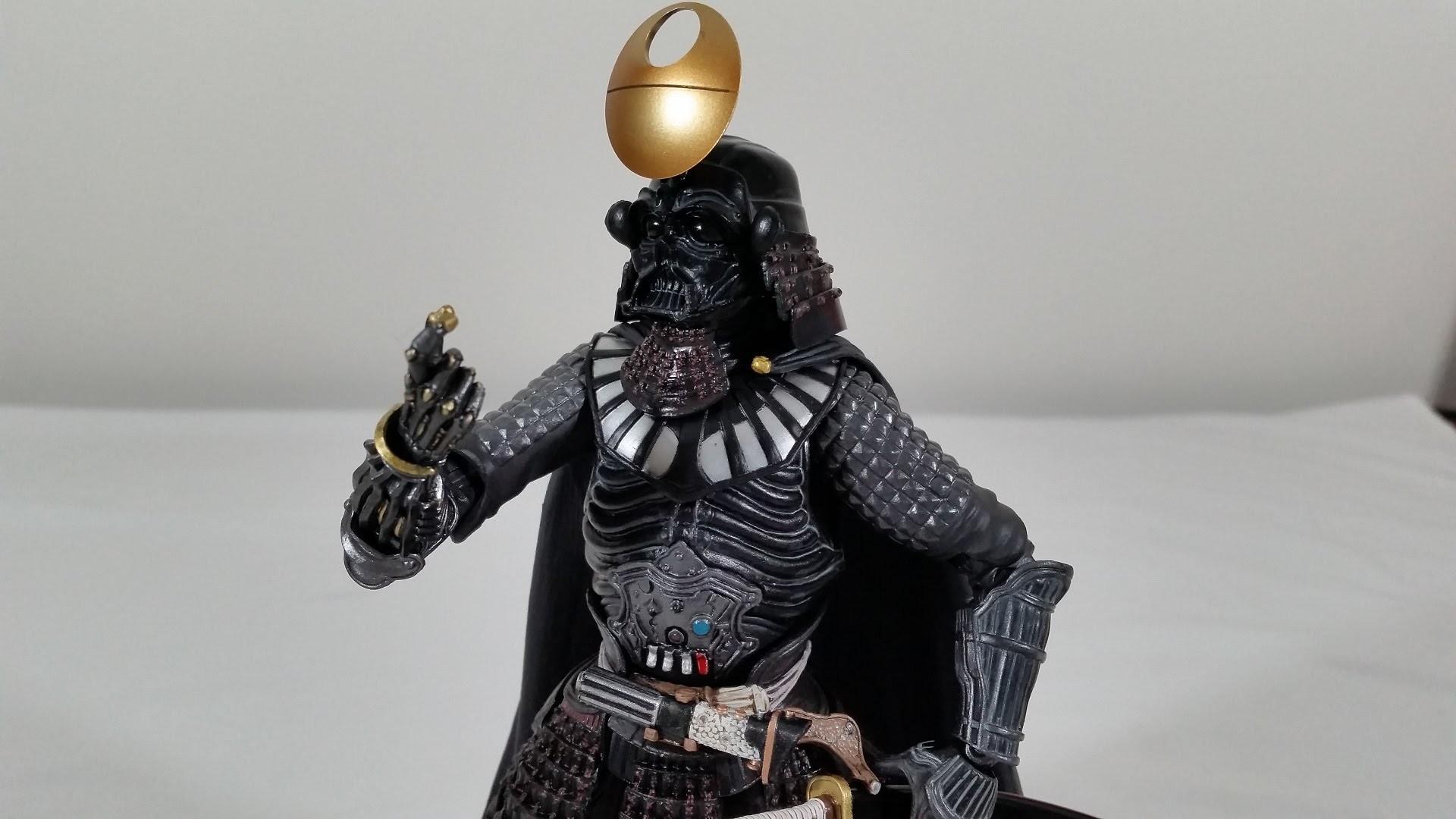 Bandai Star Wars Movie Realization Samurai Taisho Darth Vader (Death Star  Armor)