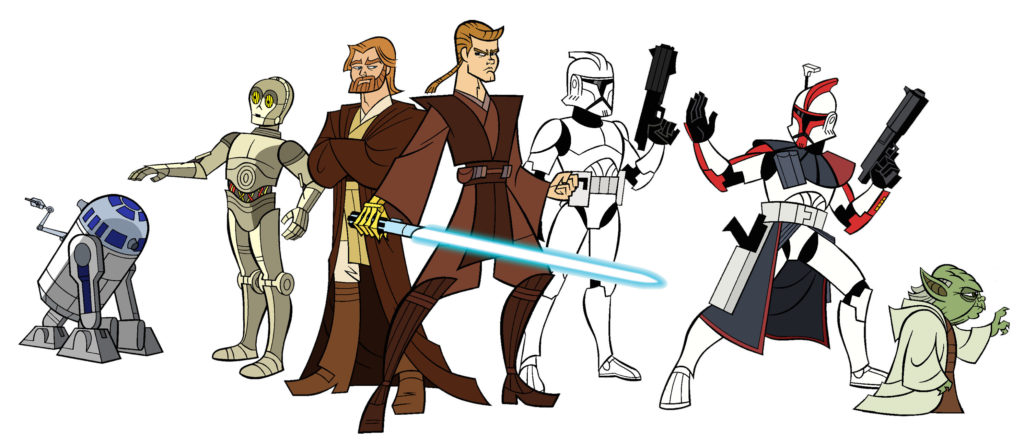 Star Wars Clone Wars Micro Series (2003) images Clone Wars Characters HD  wallpaper and background photos