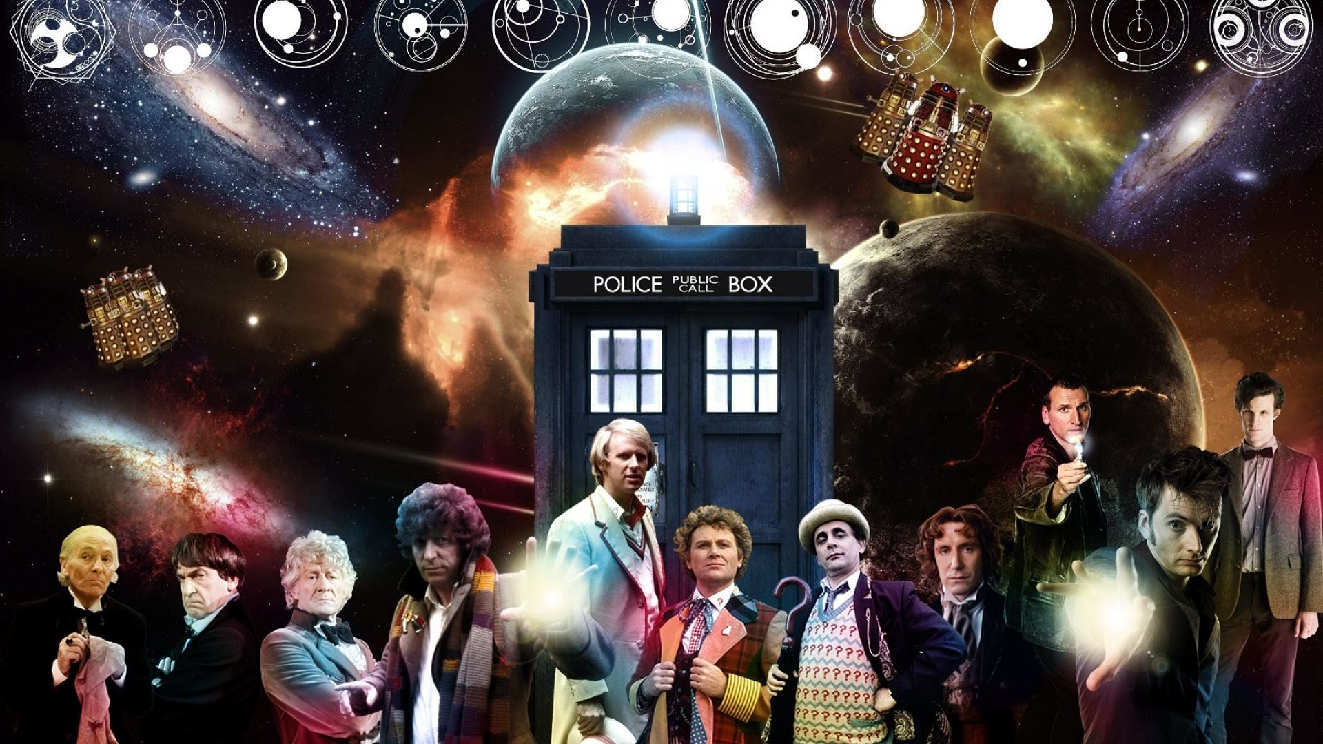 Doctor Who All Doctors, HD Wallpaper and FREE Stock Photo