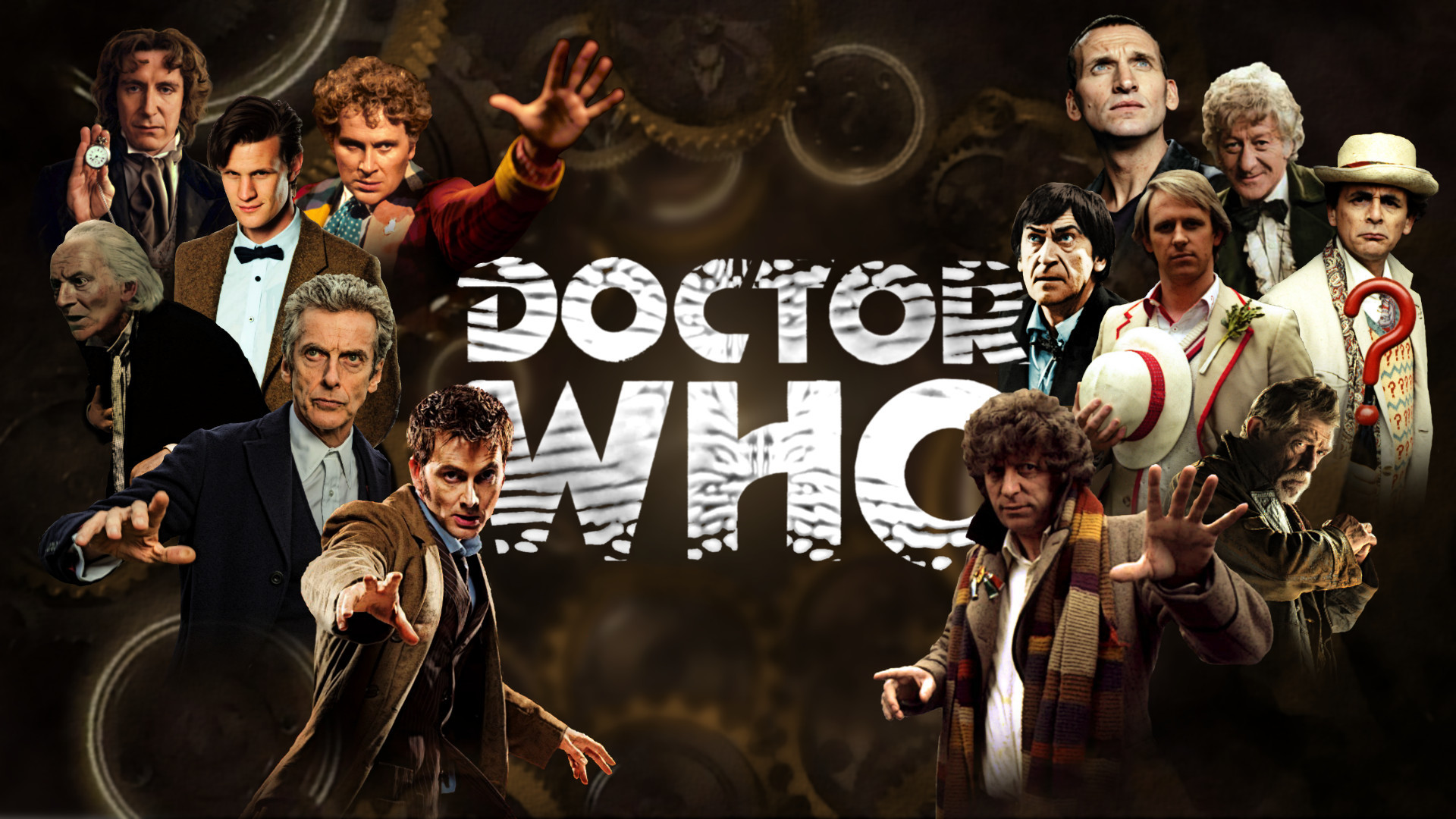 Doctor Who Ultimate Poster 13 Regenerations