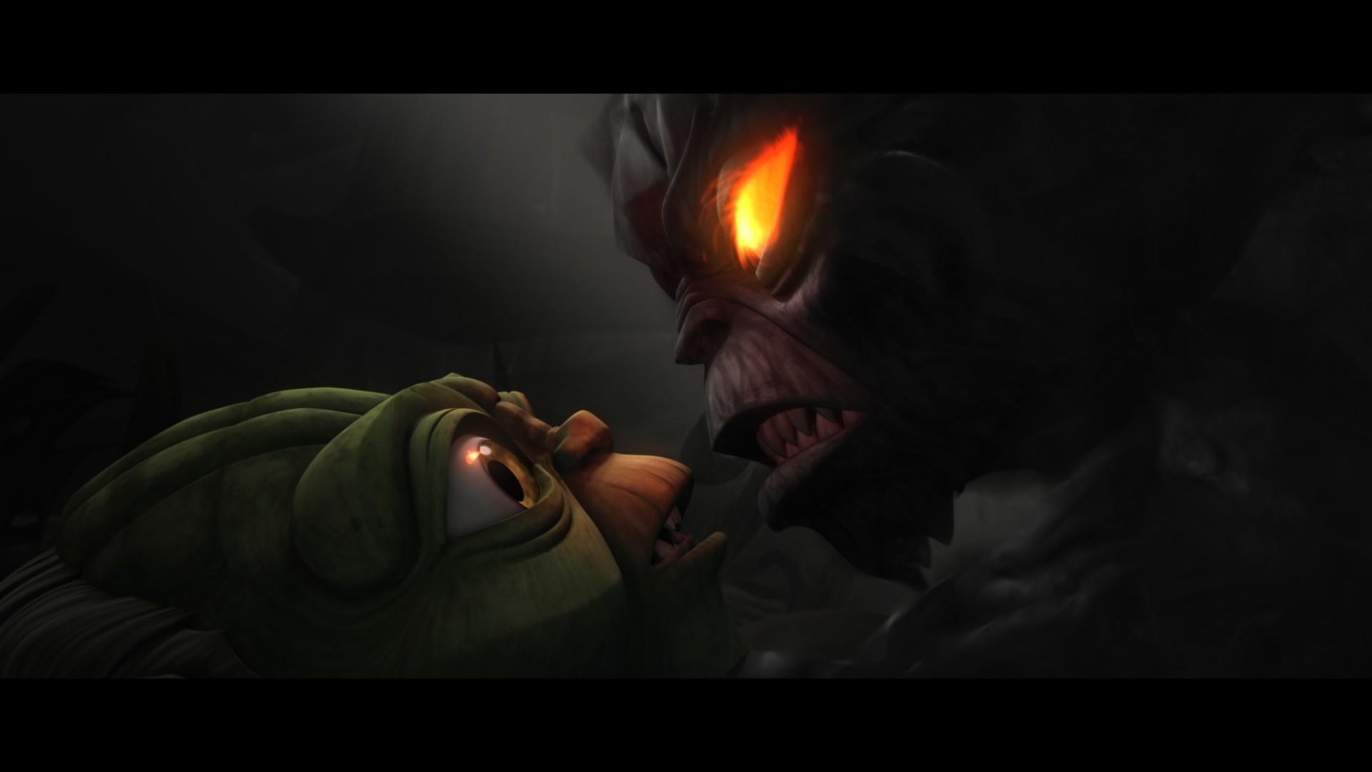 Yoda vs. Evil Yoda