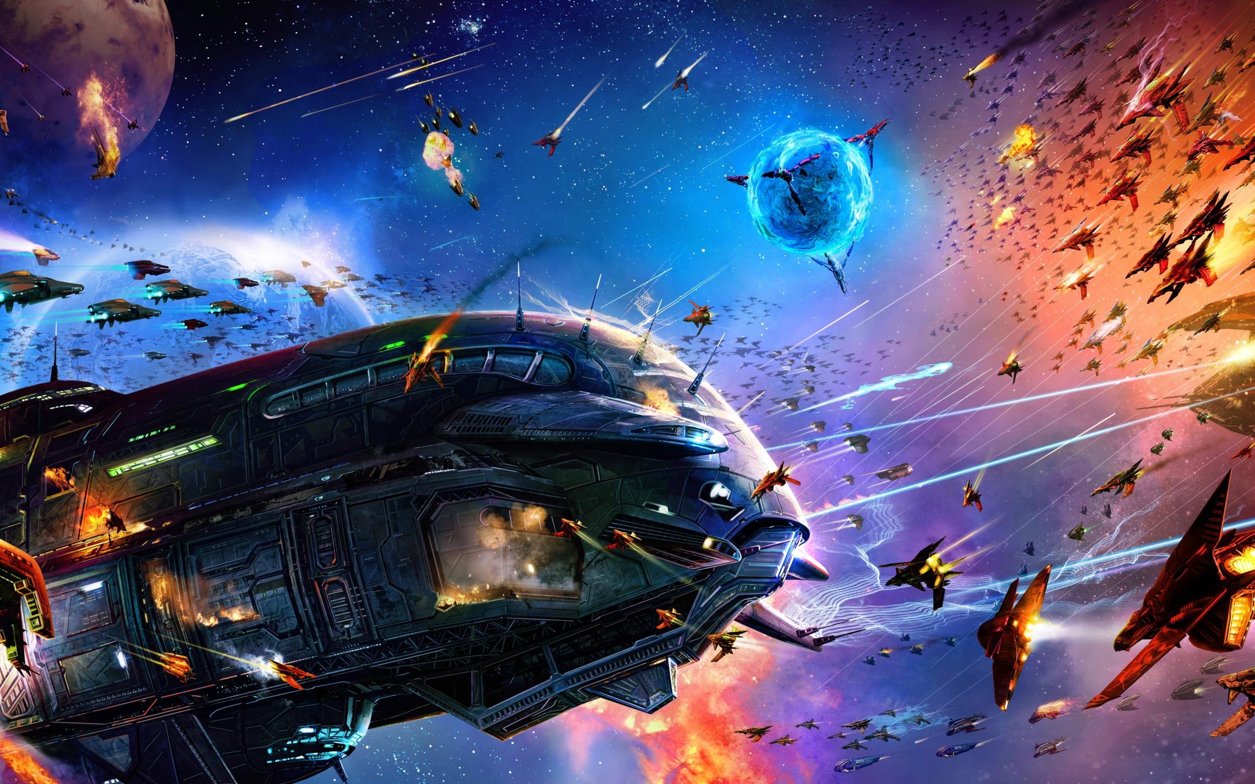 Video Game – Jumpgate Evolution Spaceship Battle Wallpaper