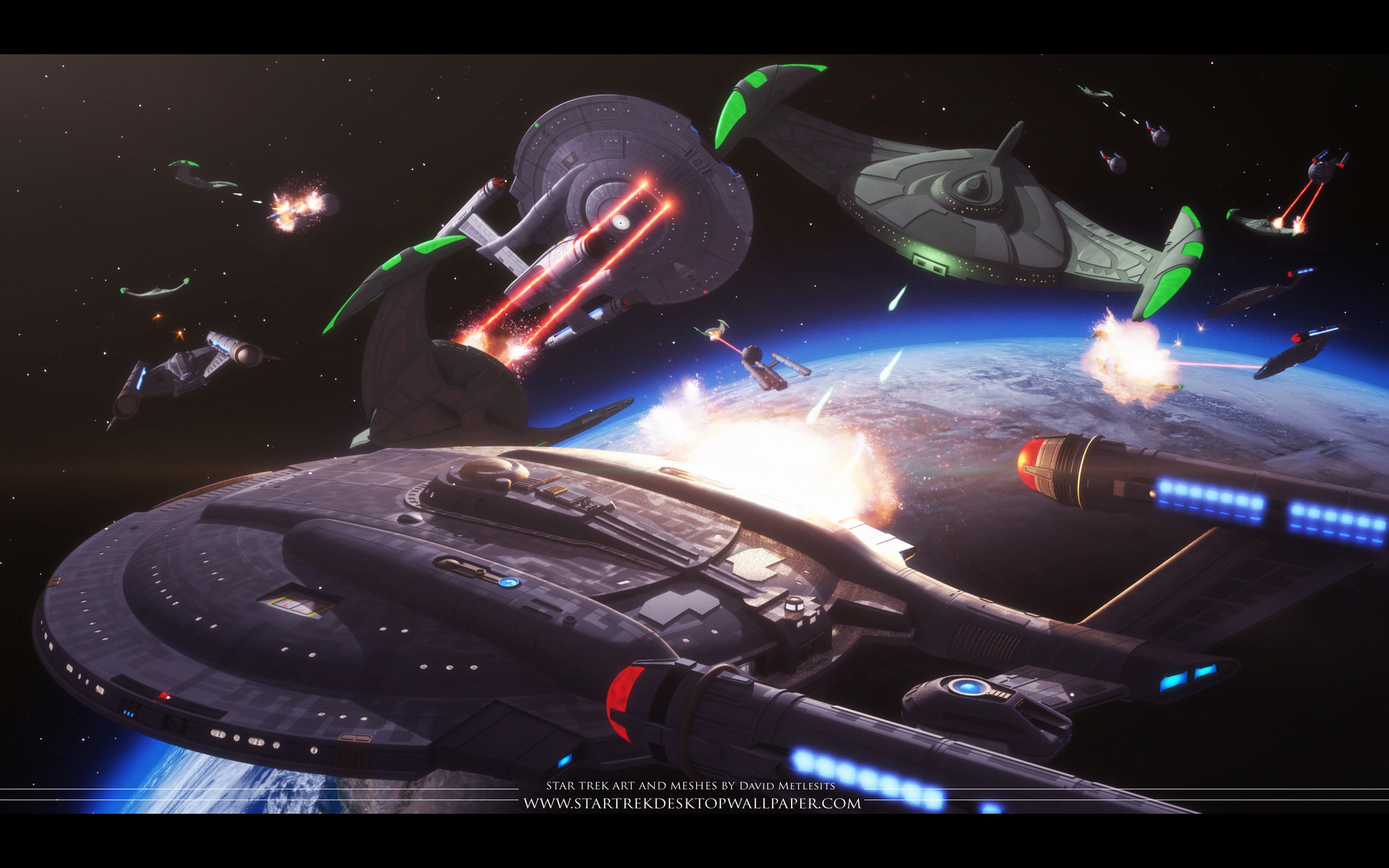 Star Trek Space Battle – free Star Trek computer desktop wallpaper,  pictures, images