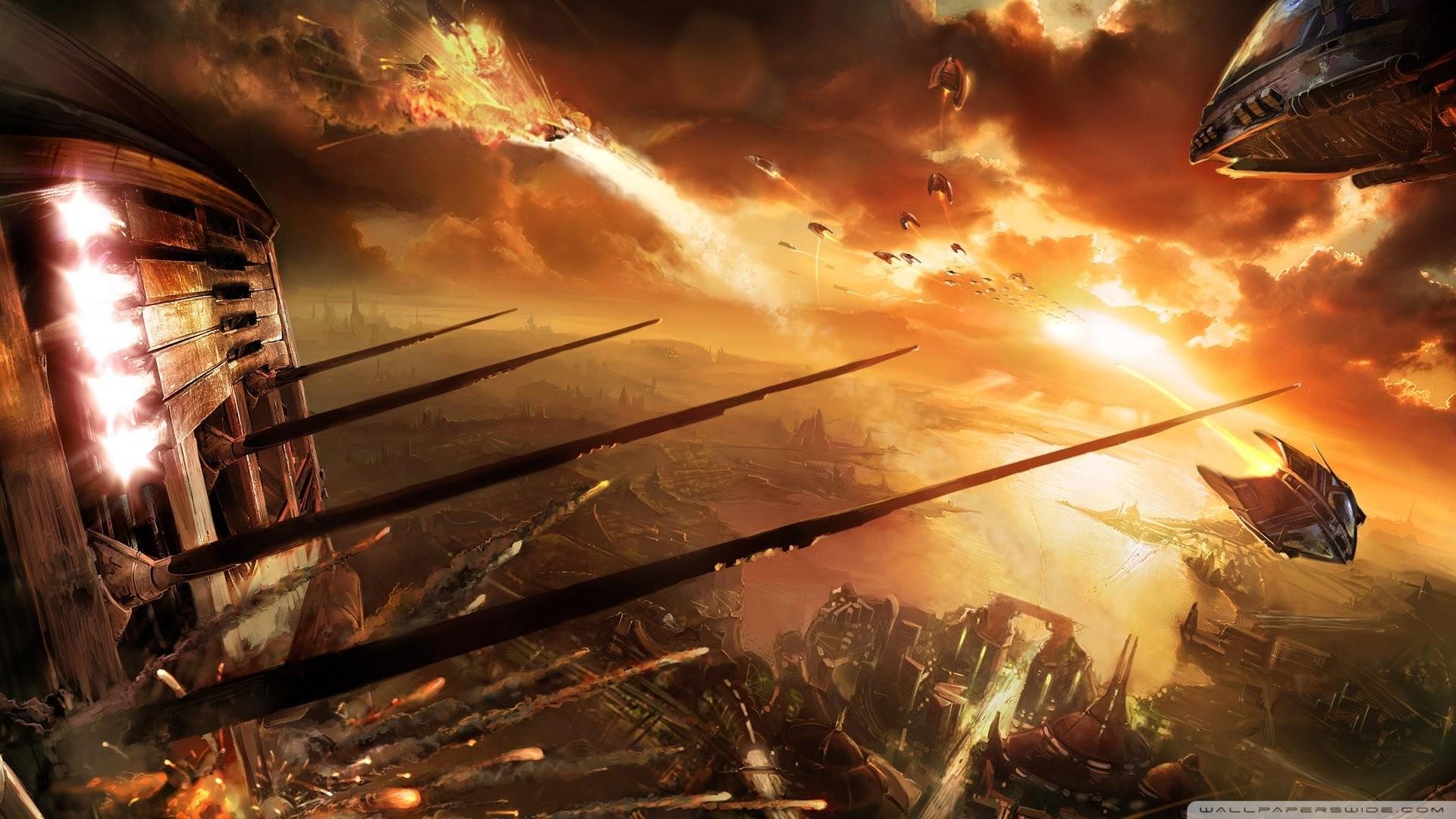Space Battle HD 889556