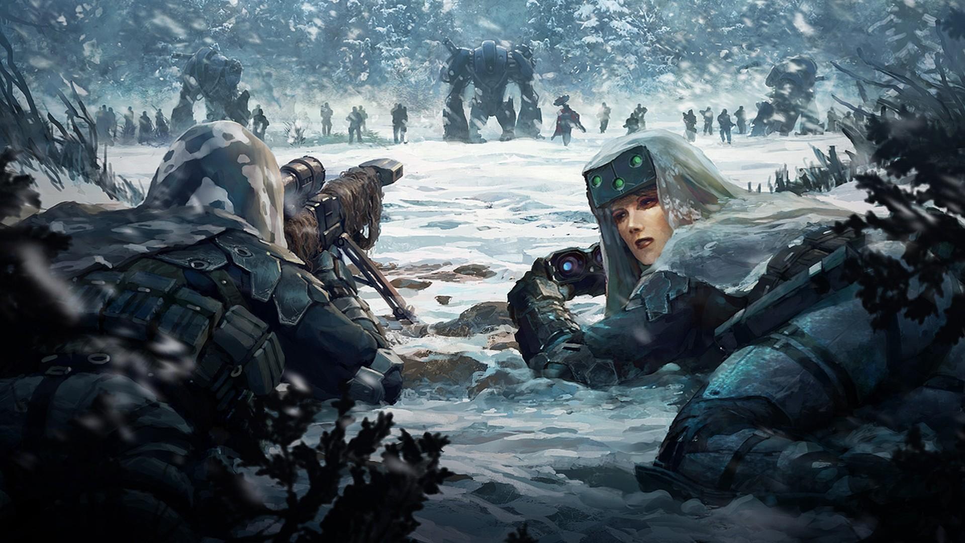 Science Fiction Battle wallpaper – 1246125