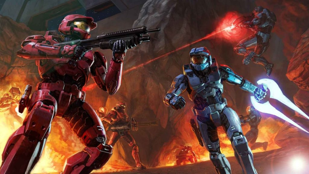 Video Game – Halo 2 Space Battle Wallpaper