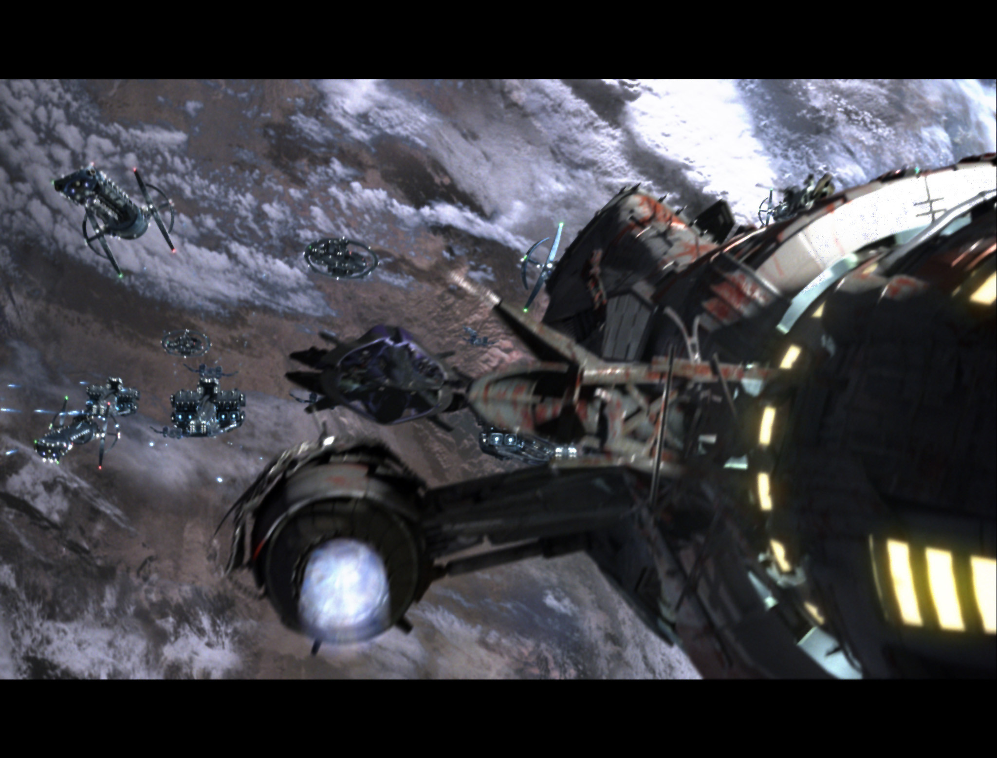 Serenity space battle by Muldoon85 on deviantART