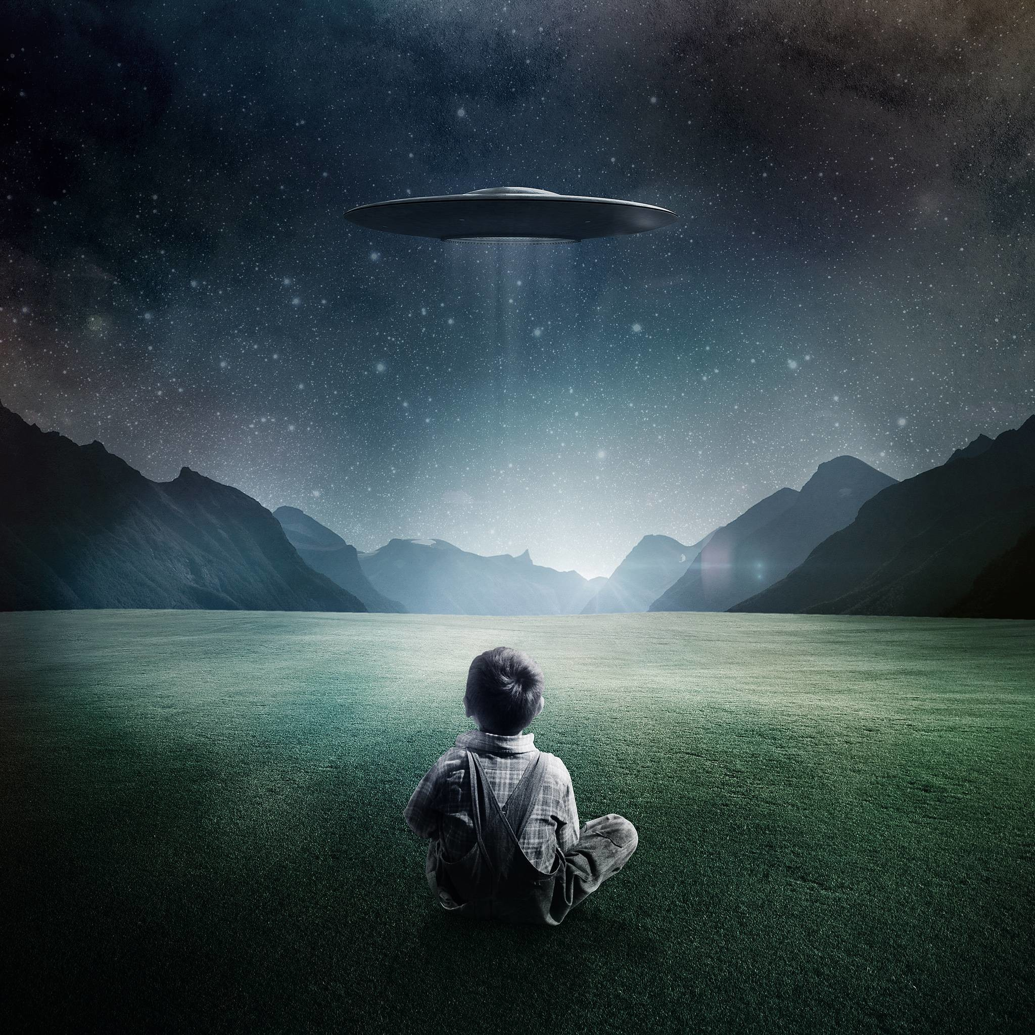 Wallpapers For > 3d Ufo Wallpaper