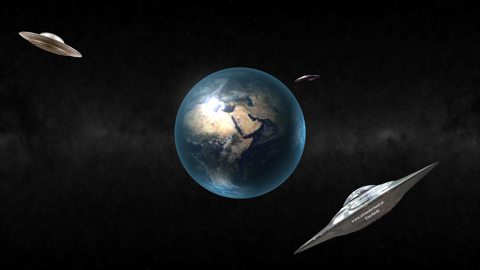 Full HD UFO Wallpaper / Space-earth-ufo-hd-