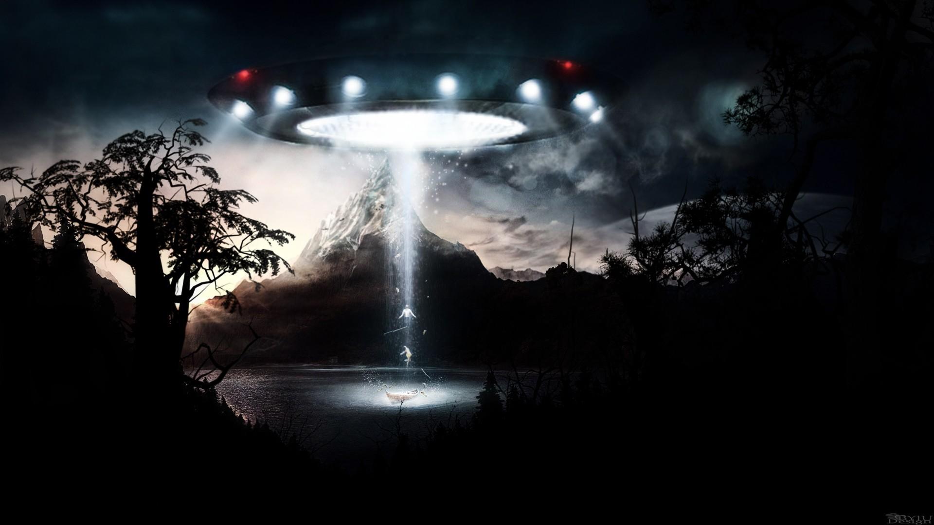 bright light UFO | Hd Ufo Art Fantasy art , ufo , bright light, trees,  mountain – hd … | ufo | Pinterest | Trees, Art and Fantasy art