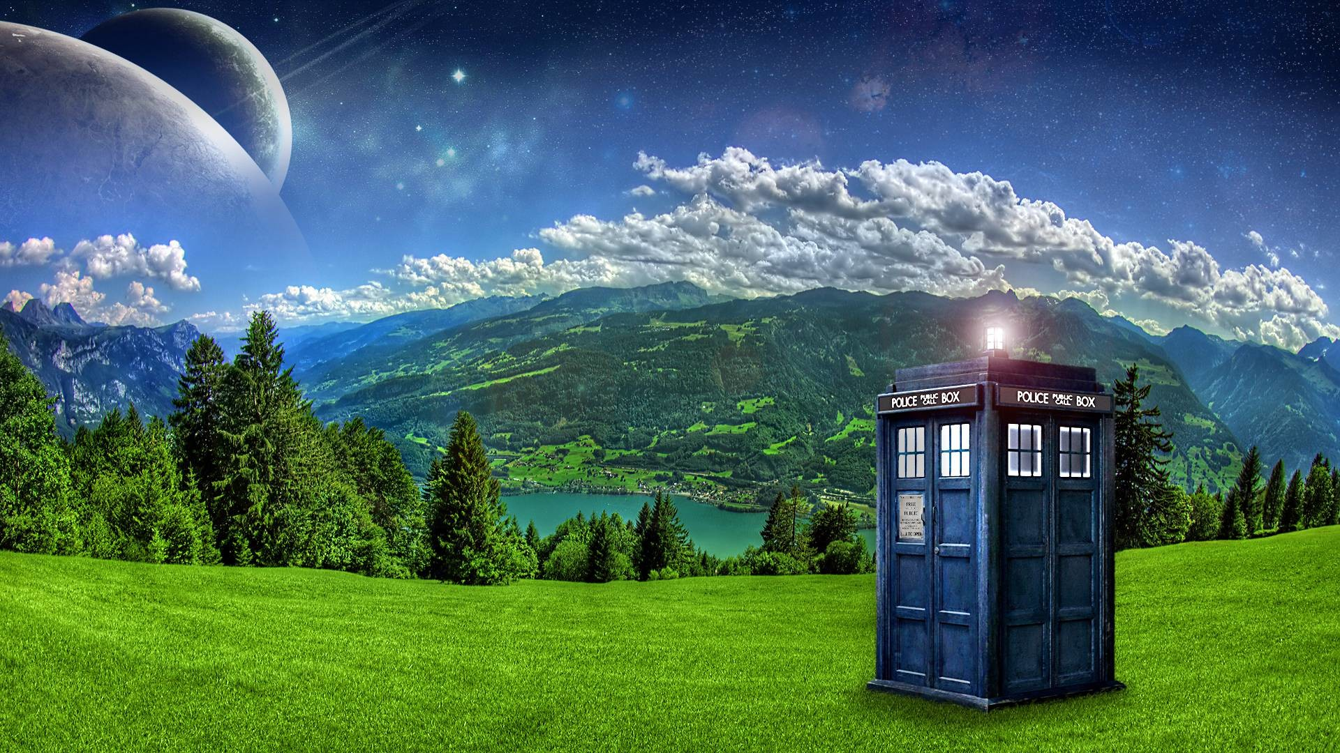 Wallpapers For > Doctor Who Wallpapers Tardis