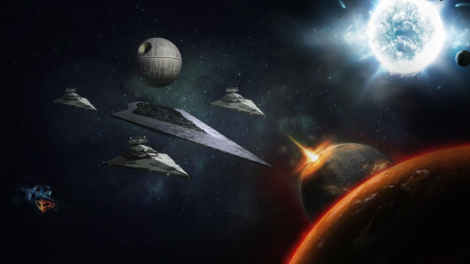 Images For > Super Star Destroyer Executor Wallpaper