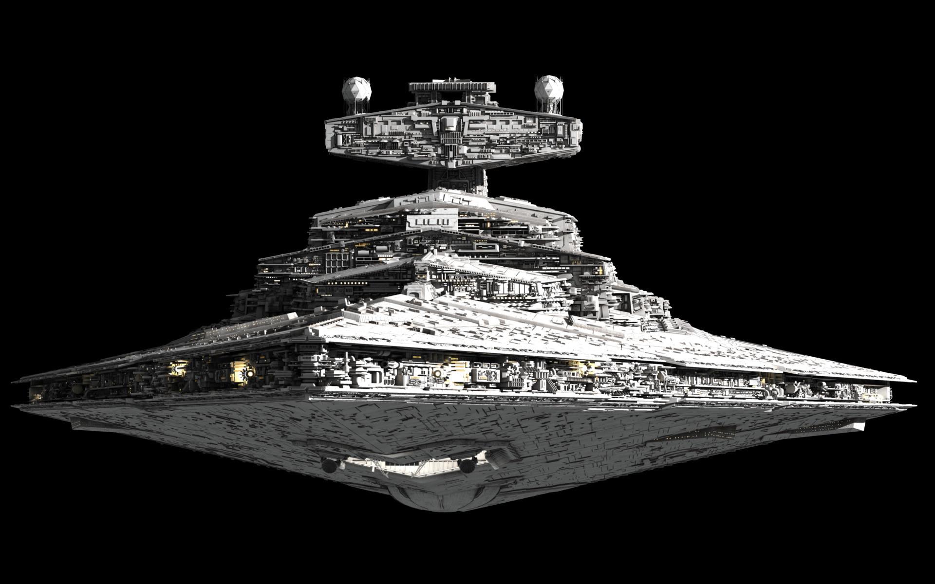 Imperator-class Star Destroyer   Fractalsponge.net