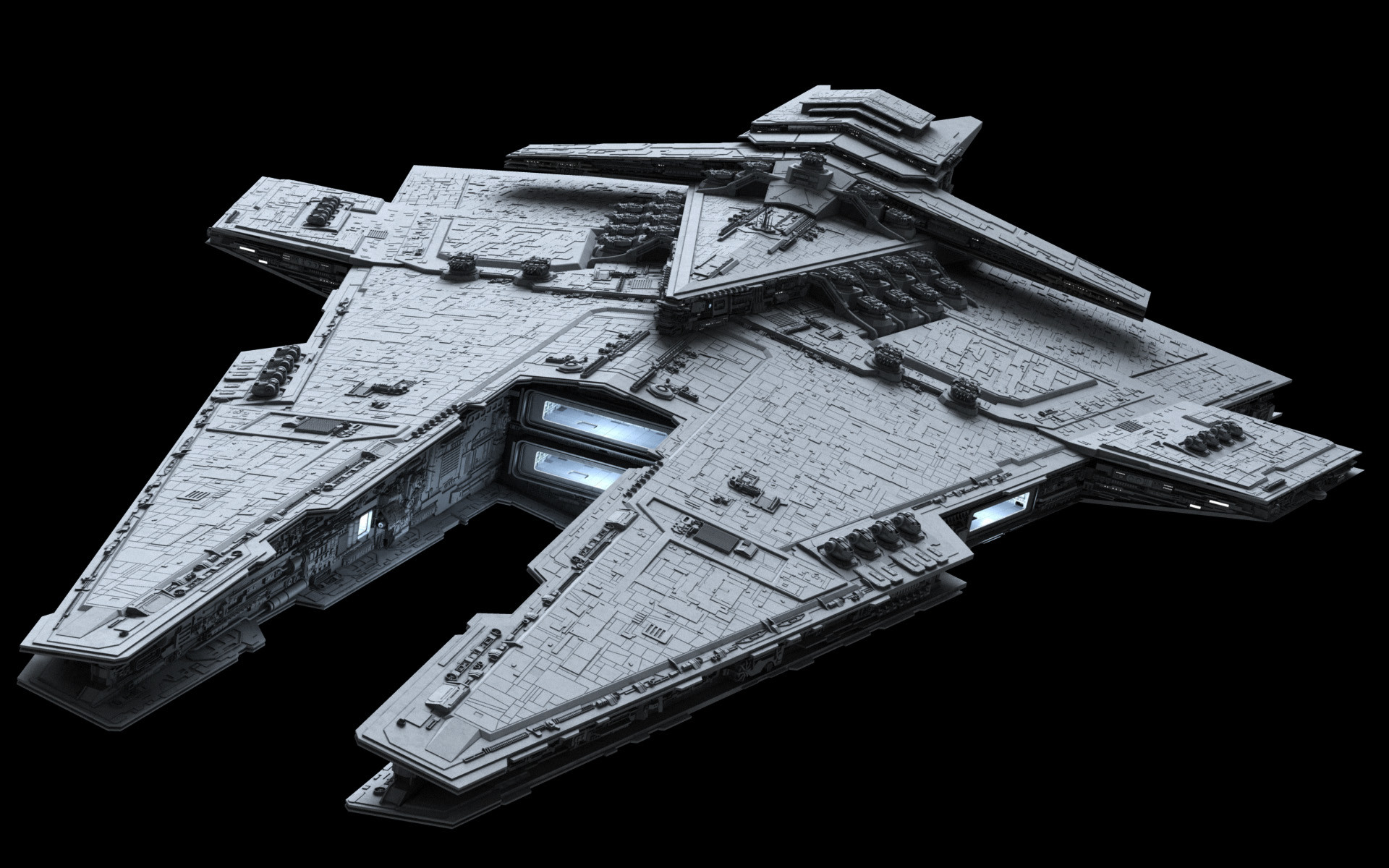ILM star destroyer model from the movie set – Google Search