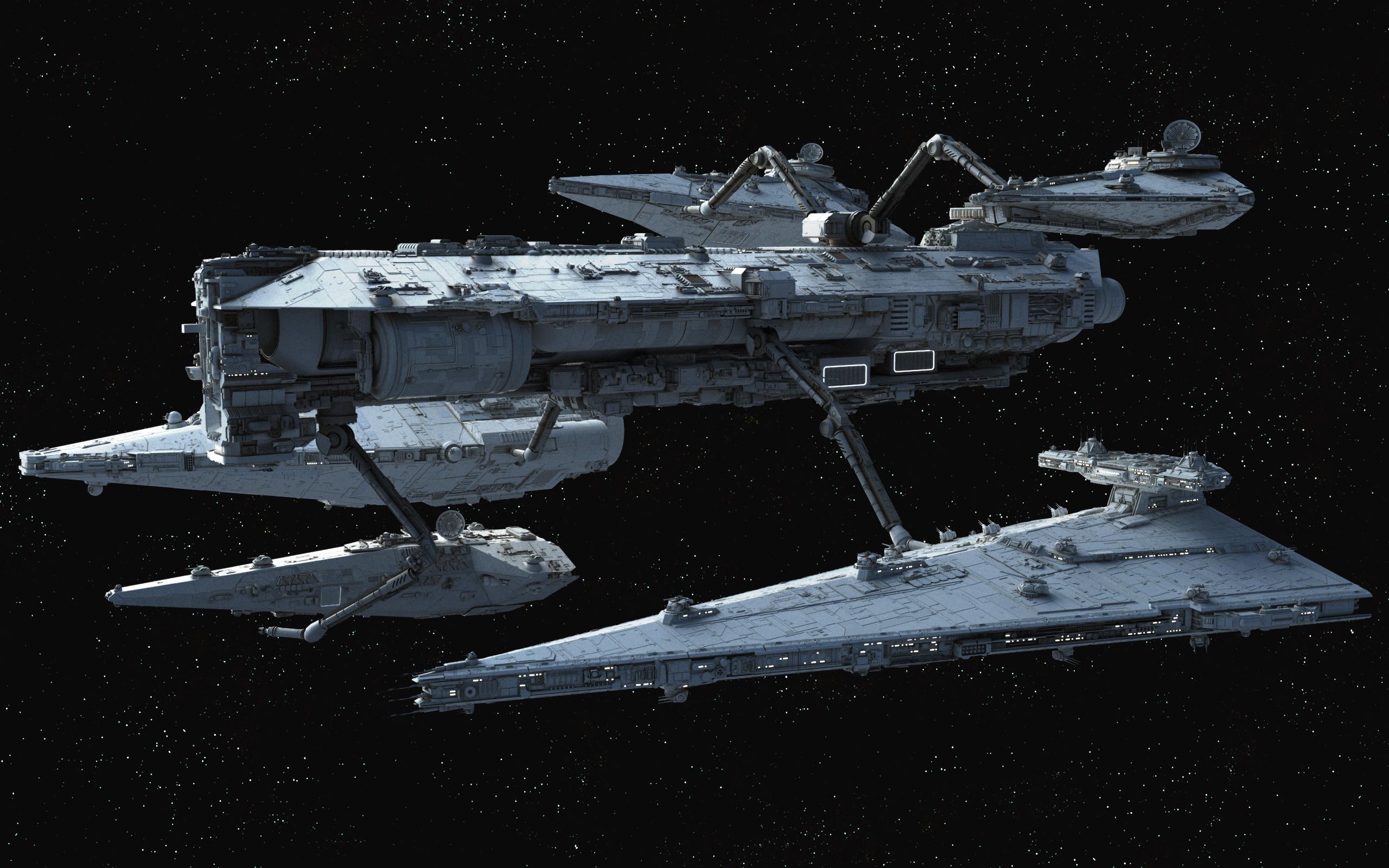 Star destroyer · Contentor-class Fleet Replenishment Ship –  Fractalsponge.net
