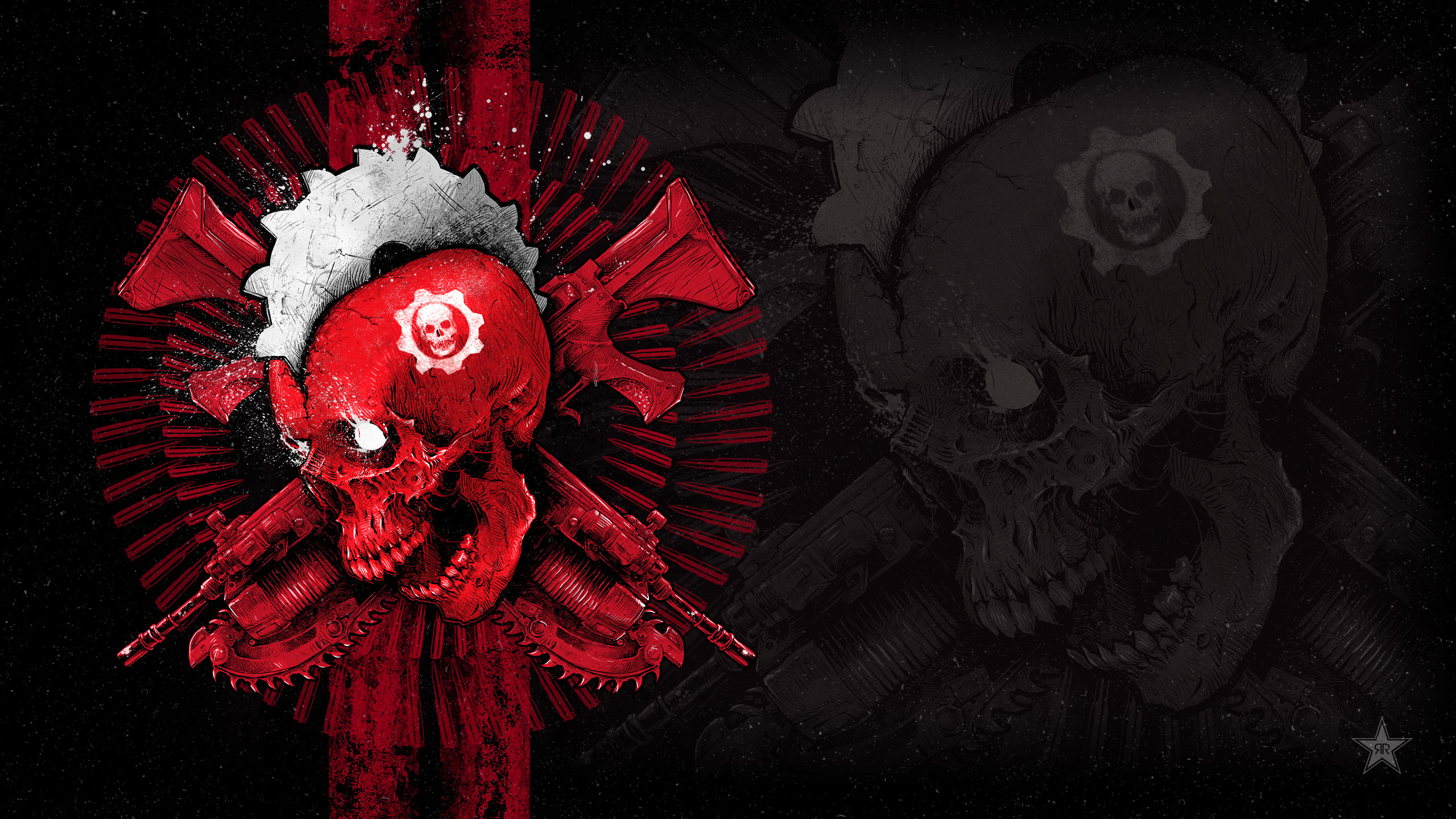 GEARS OF WAR 4 GODMACHINE Game Wallpaper HD