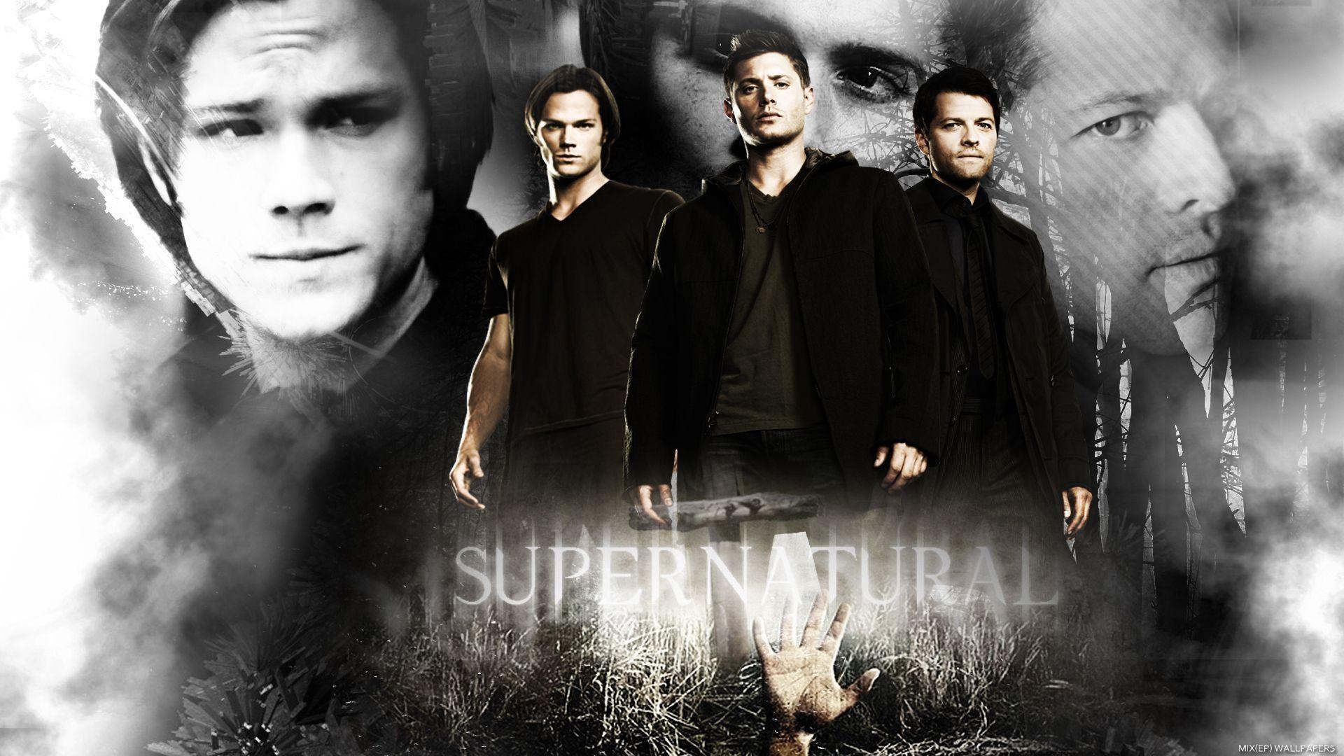 Images For > Supernatural Desktop Wallpaper Sam Dean Castiel