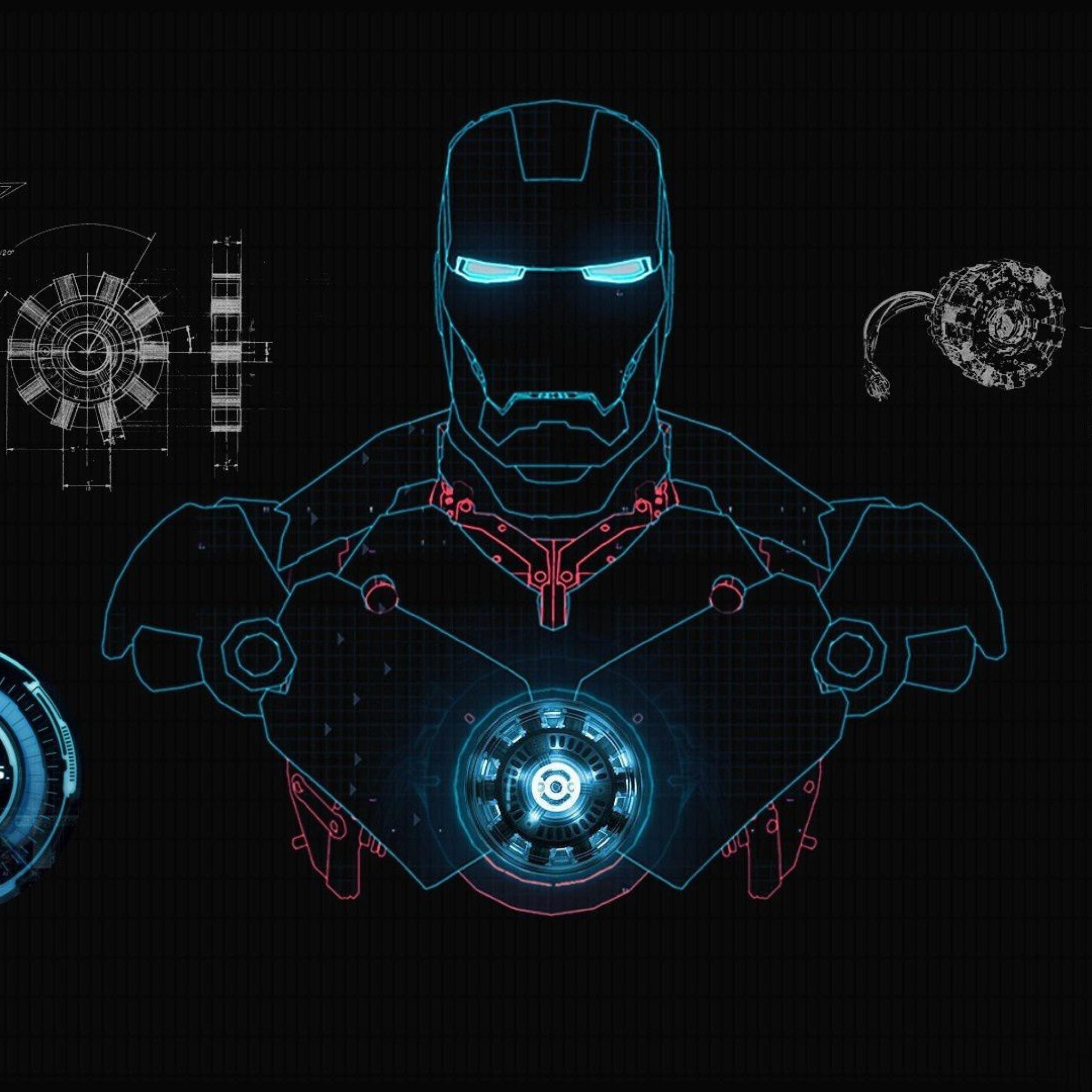 Iron Man Wallpaper Jarvis #53510 at Movies Wallpapers – 1080p HD .