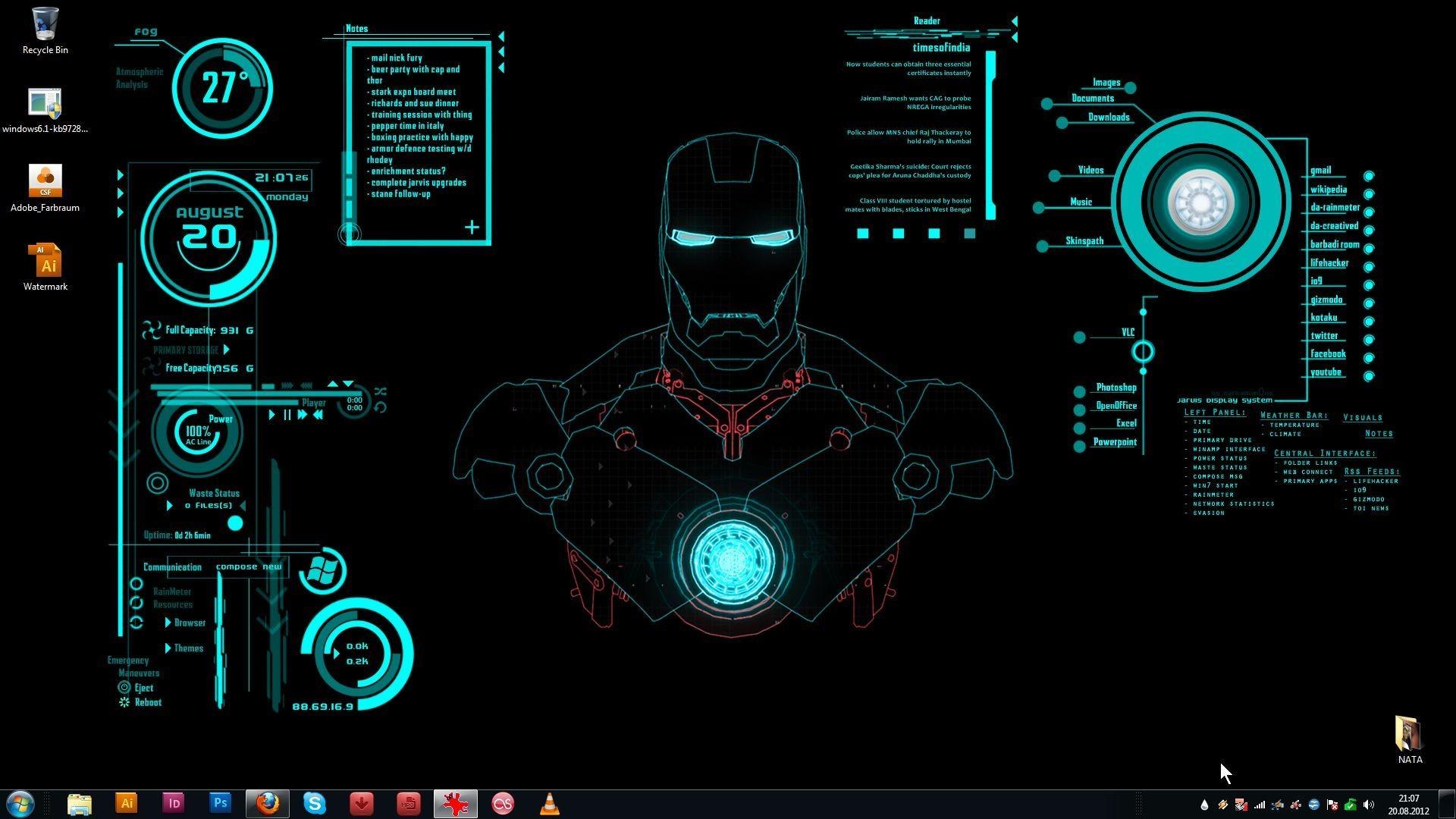 Iron Man Jarvis