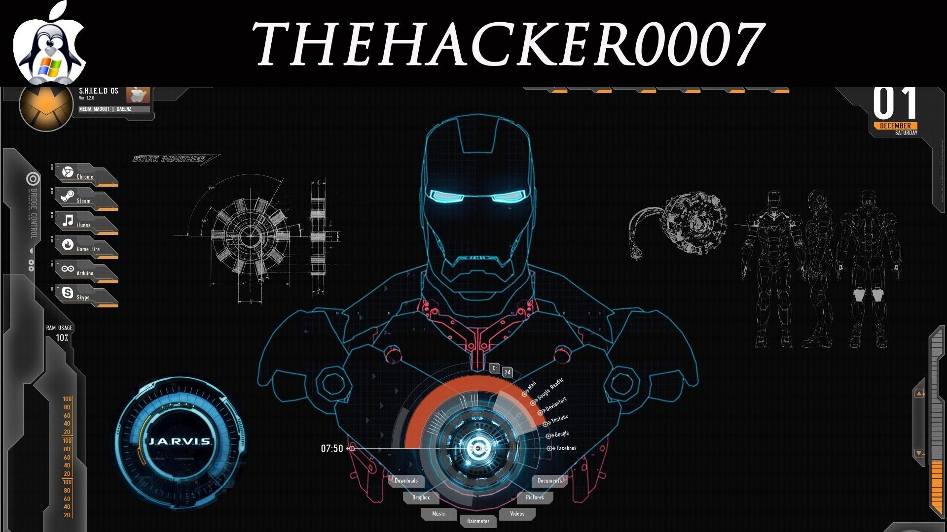 Iron Man Jarvis Desktop For Windows – YouTube