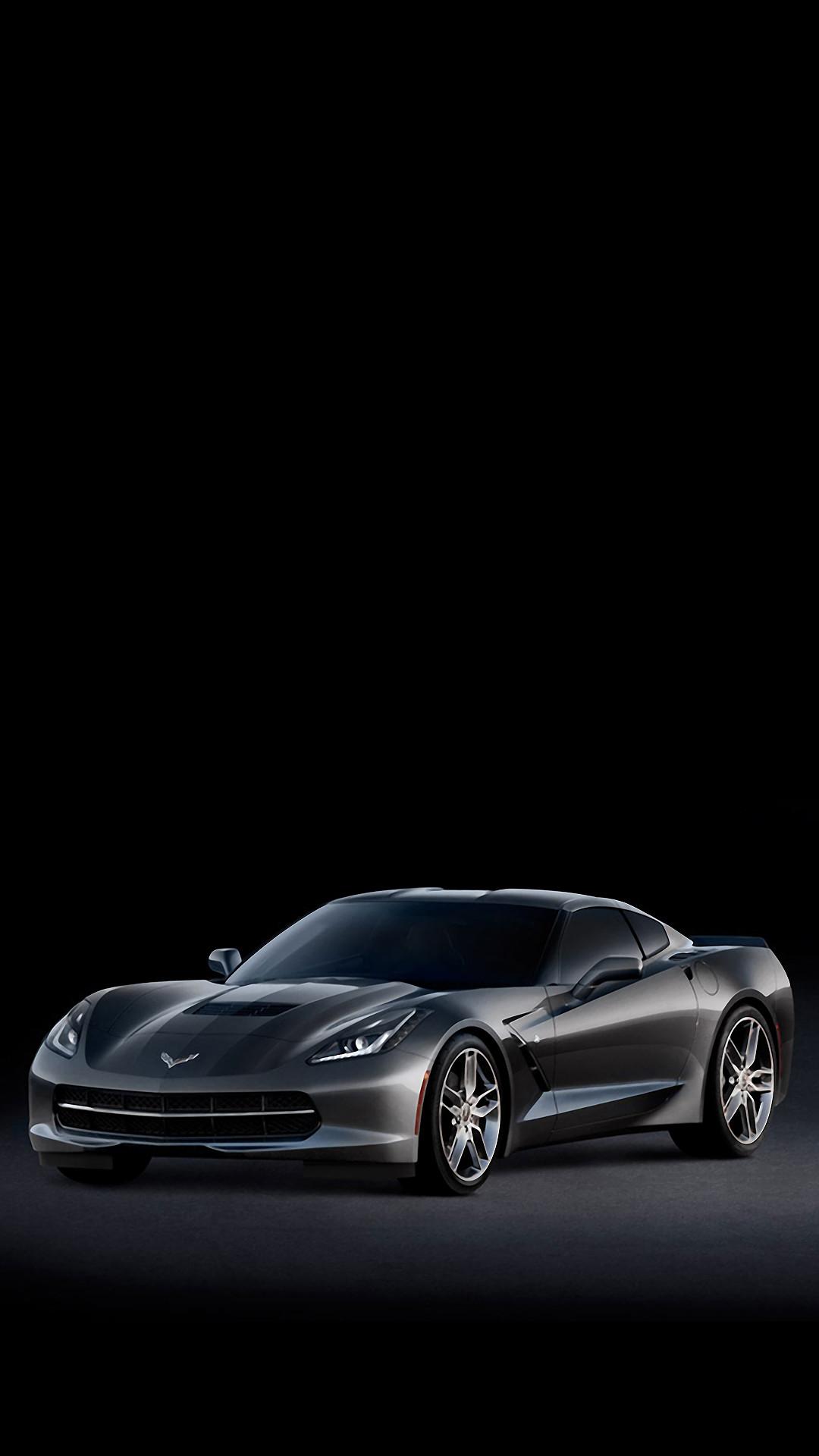 C7 Corvette Stingray Side #iPhone #7 #wallpaper
