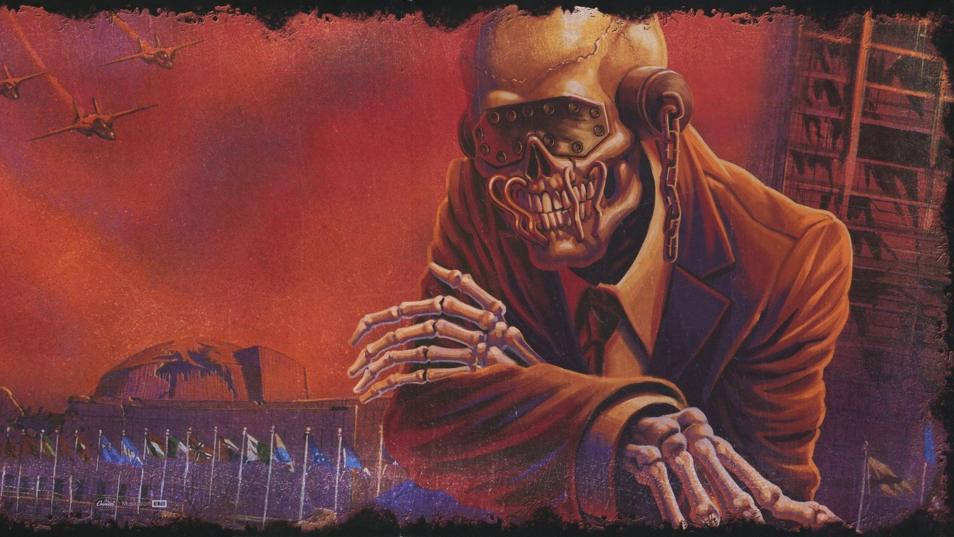 Wallpapers For > Megadeth Wallpaper Vic