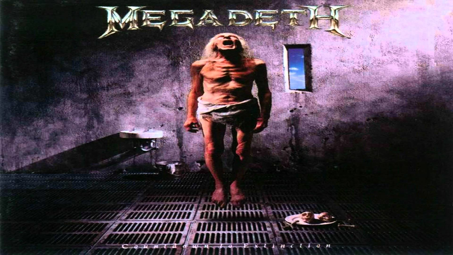 Megadeth – Sweating Bullets [Guitar Backing Track]