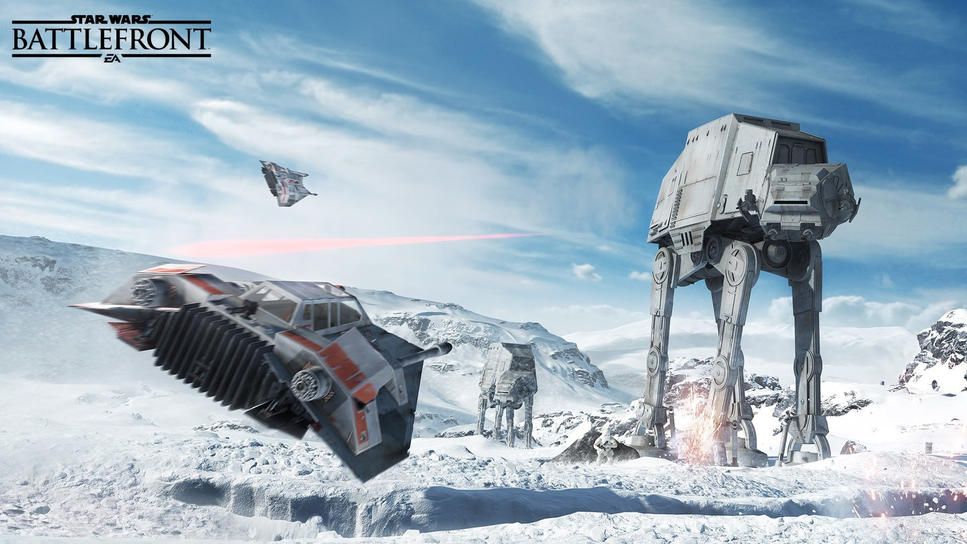High Definition HD 1080p: (fits on: 1600×900, 1366×768,  1280×720). Star Wars: Battlefront 4 HD