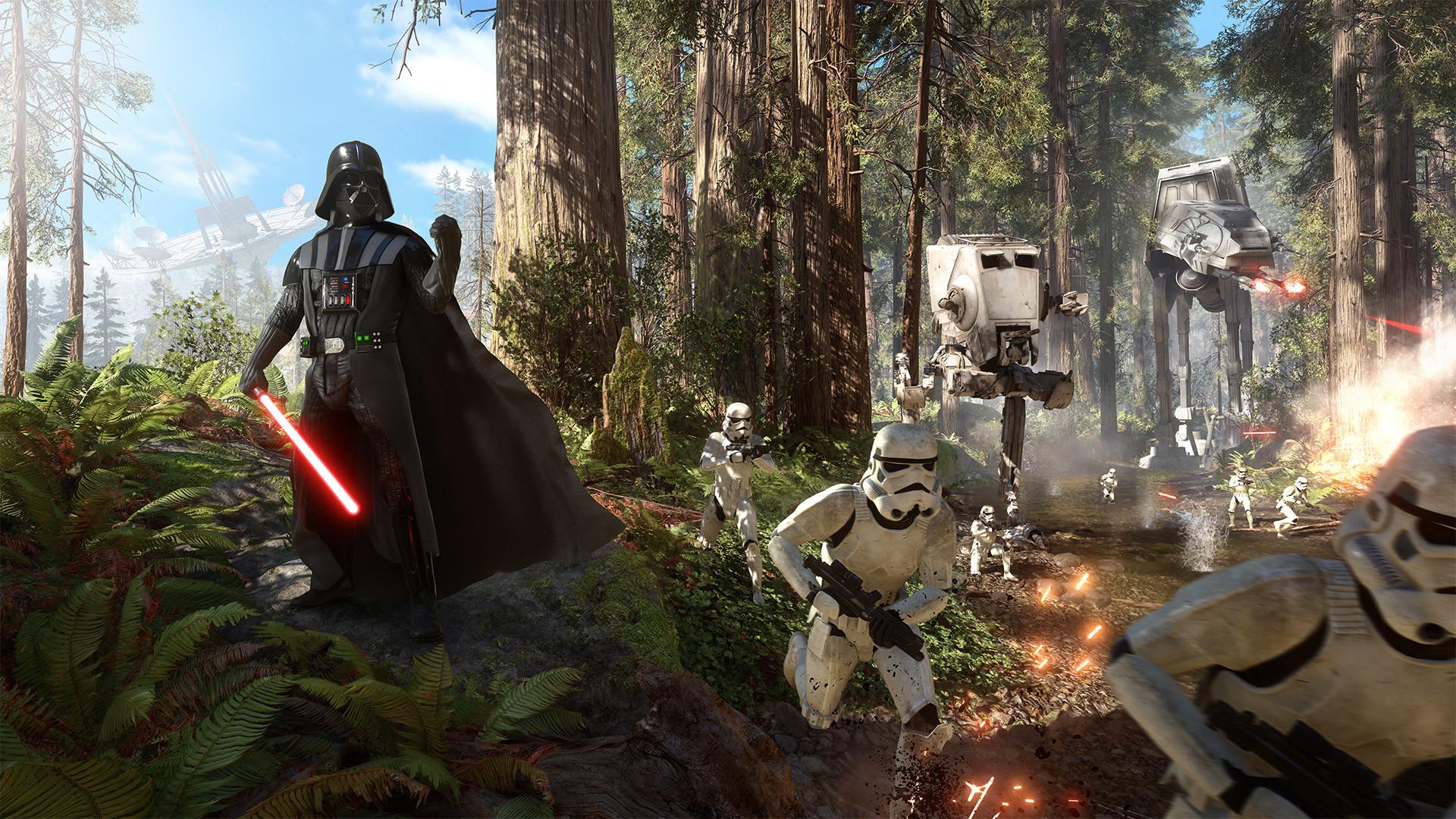 Star Wars Battlefront 2015 Action Wallpaper Star Wars Battlefront 2015  Background